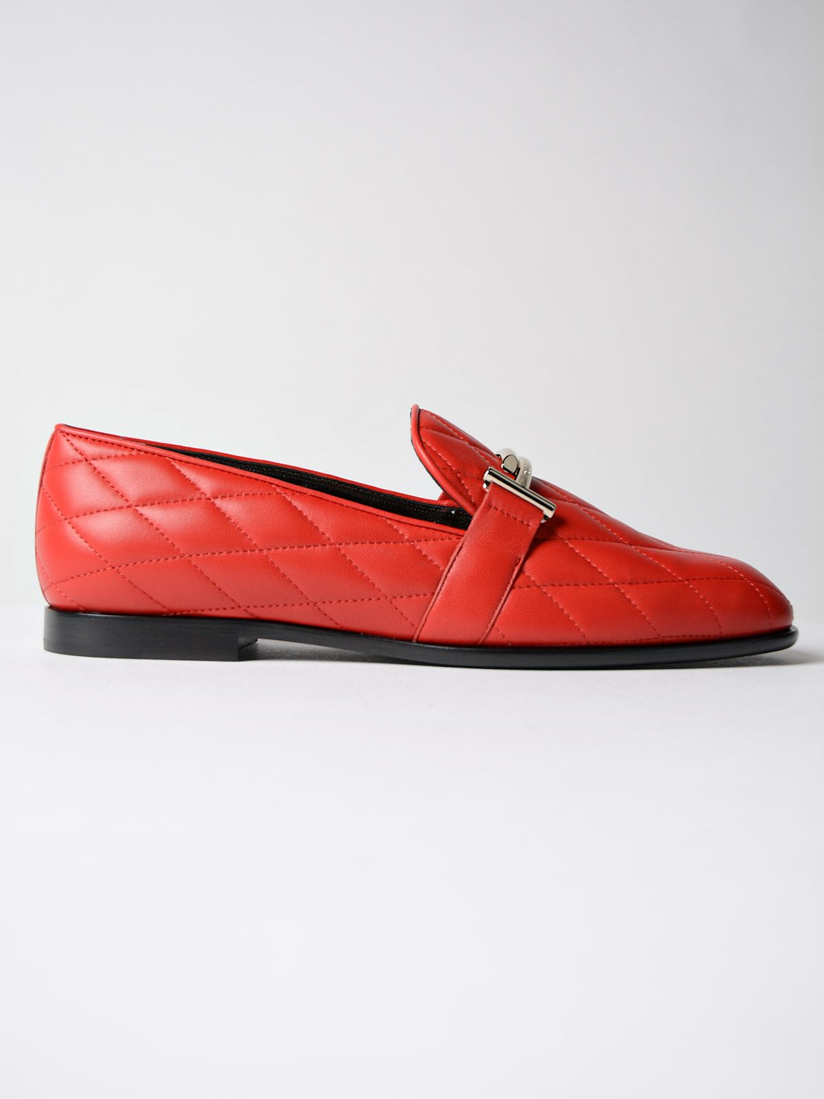 79a9553206b Tod s Tod s Quilted Loafers - Red - 7778408