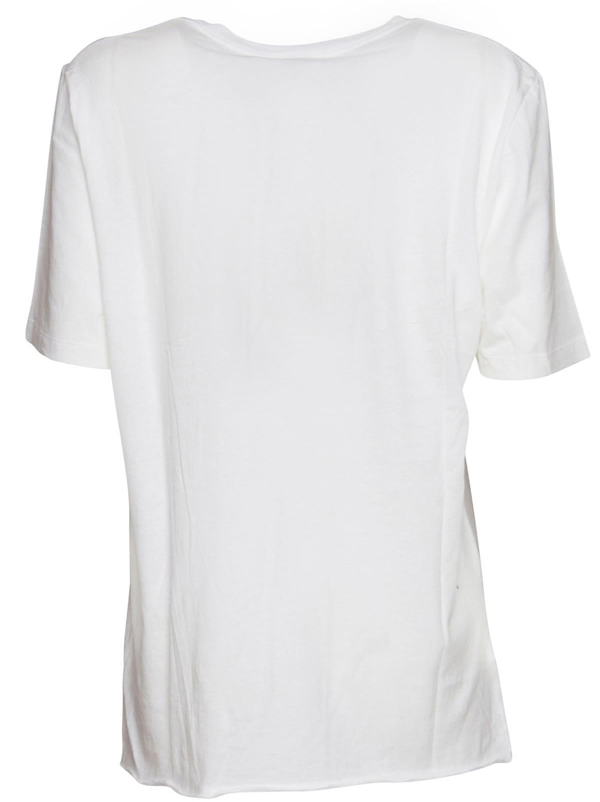 d867207a7 Saint Laurent Saint Laurent Studs T-shirt In White - BIANCO ...