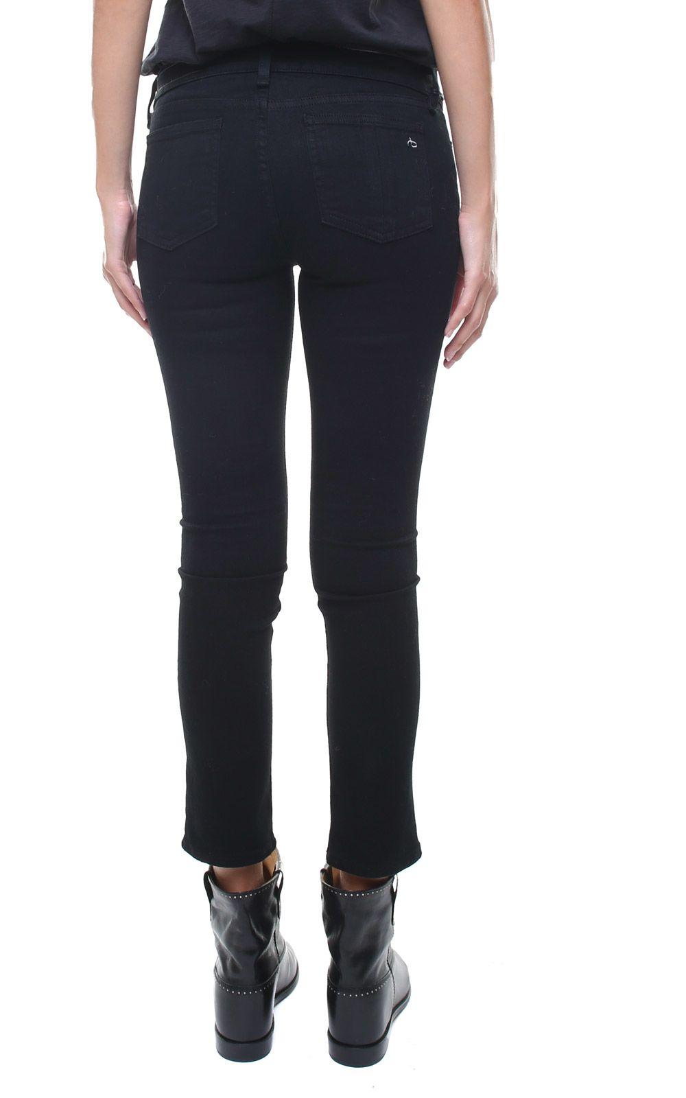 977fa7ab7eaf4 Rag   Bone Rag   Bone Capri Mid-rise Skinny Jeans - Nero - 10696018 ...