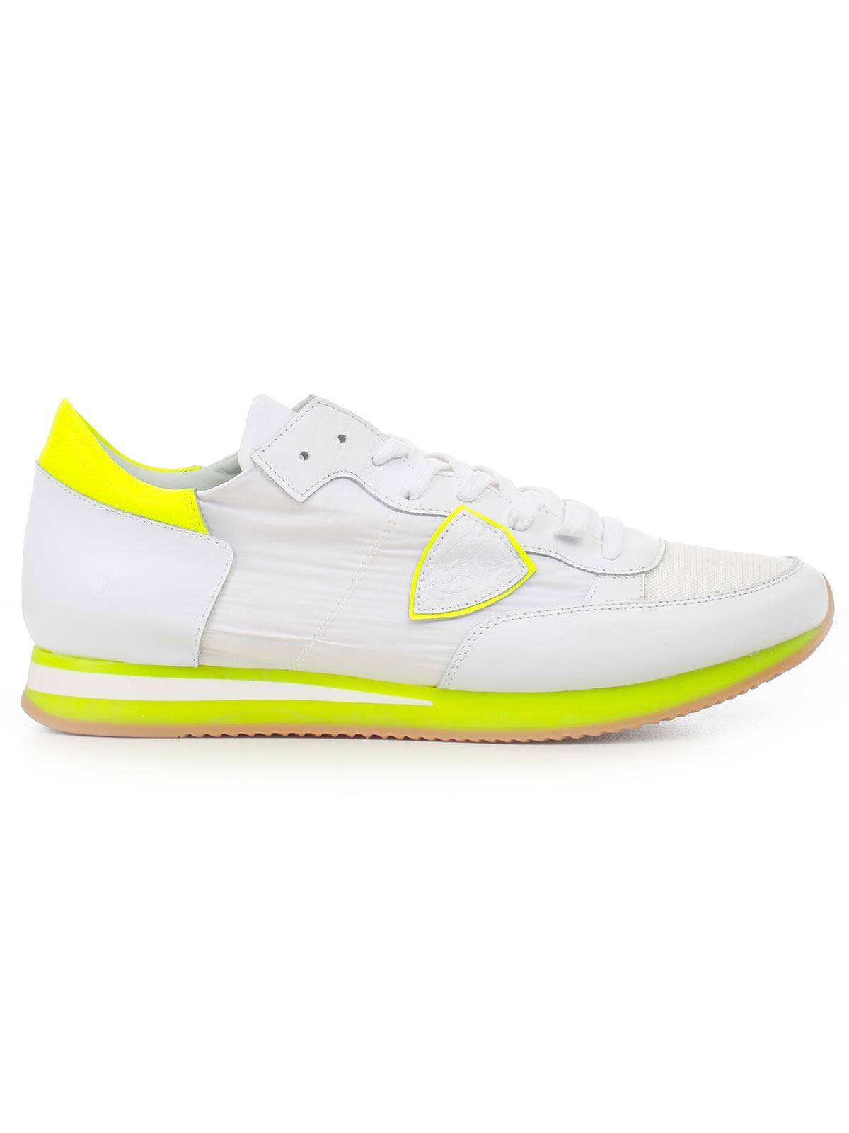 Philippe Model Scarpa Tropez - Mondial White Yellow ... be1ec988a82