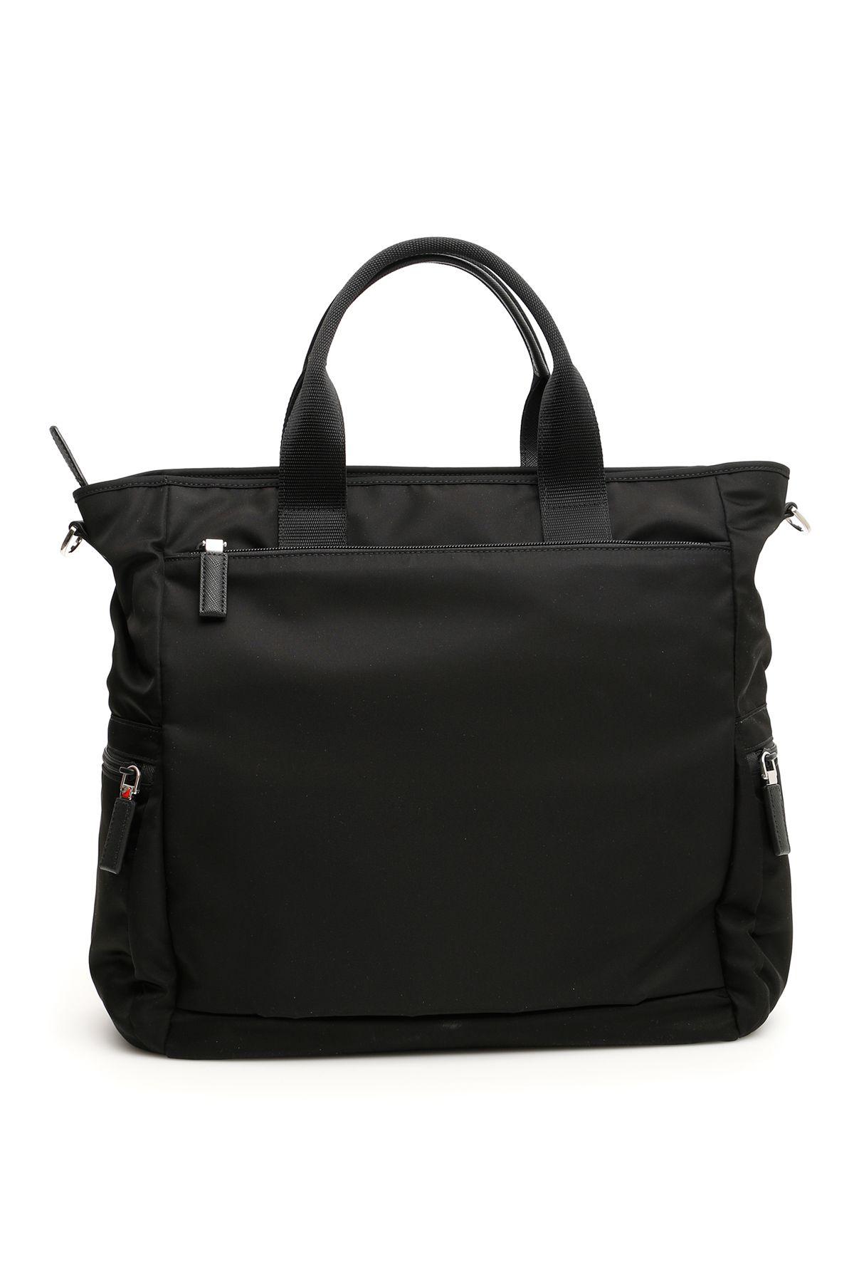 f74db7006753 Prada Prada Nylon Shopper - Basic - 10773917