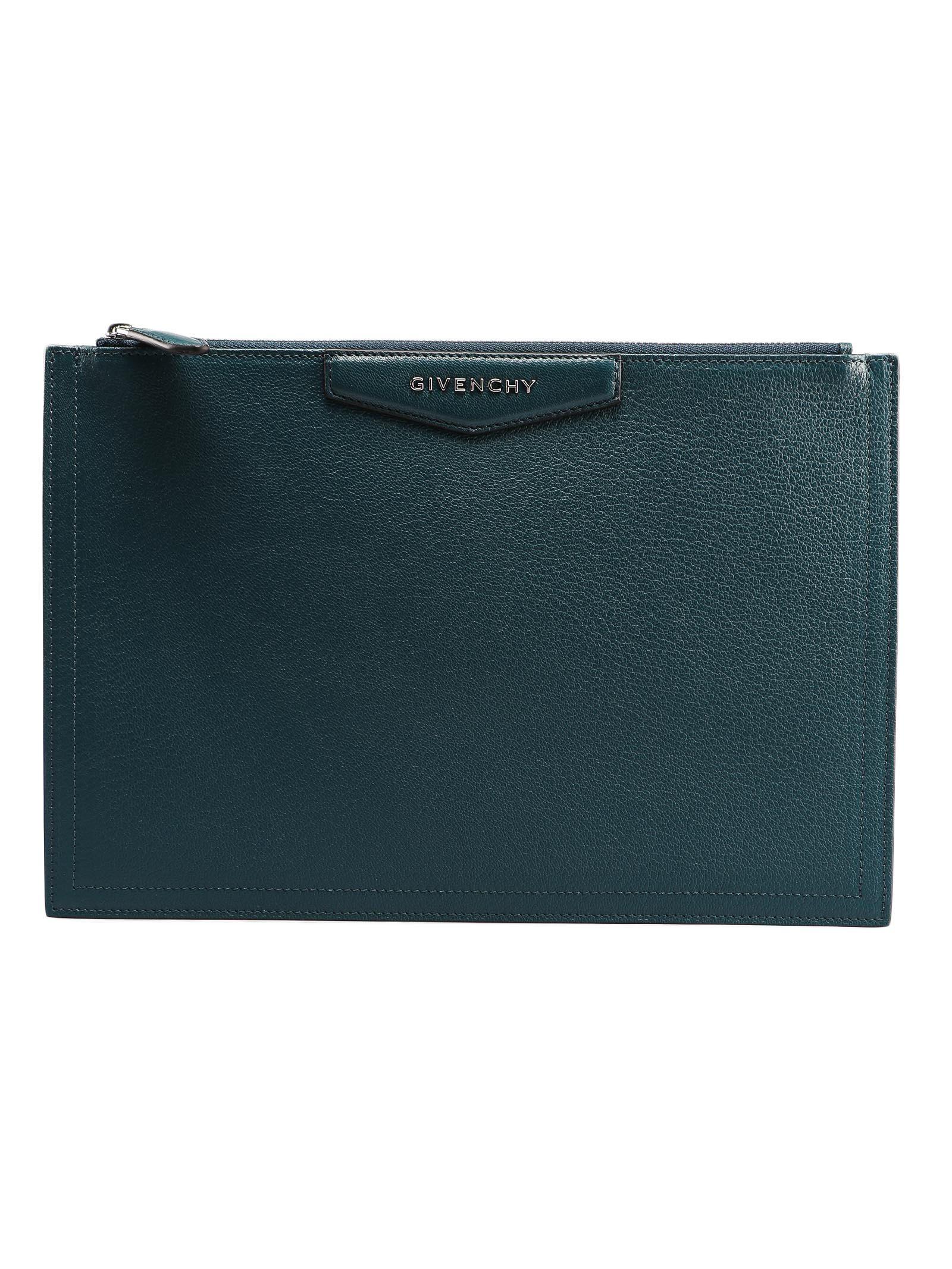 9f5645a4e9 Givenchy Givenchy Large Antigona Pouch - Prussian Blu - 10954672 ...