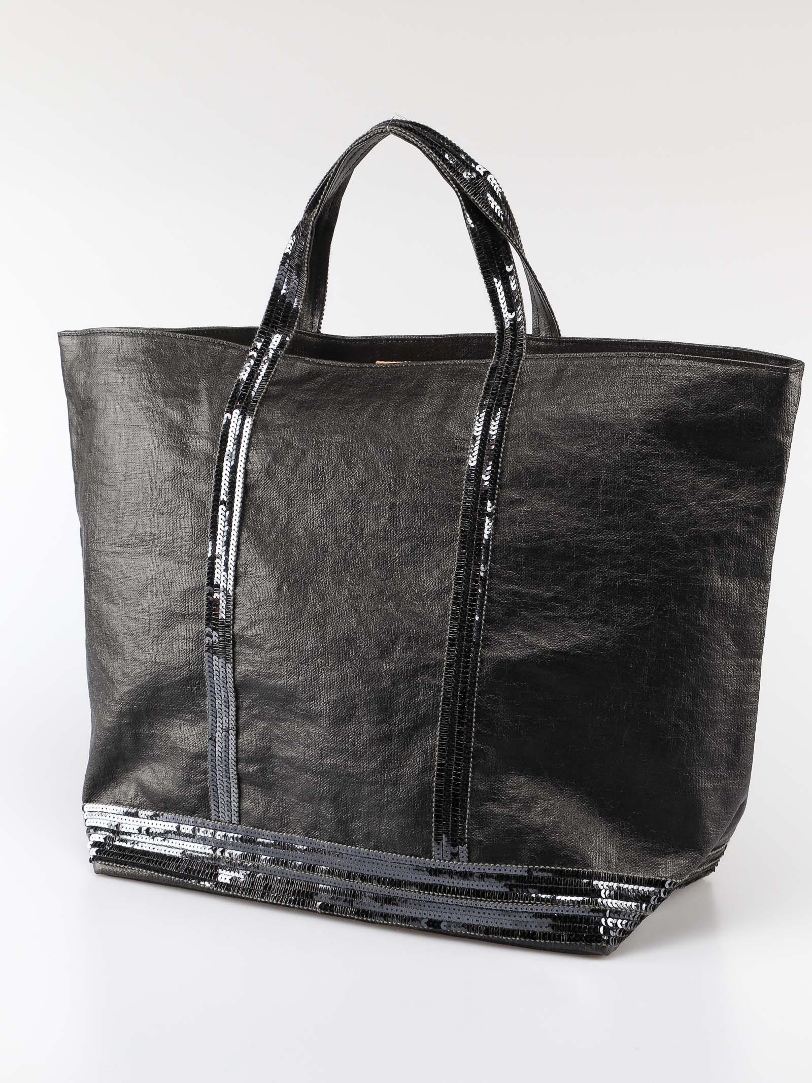 ef30ed72f4b Vanessa Bruno Vanessa Bruno Sequin Embellished Tote - Noir ...