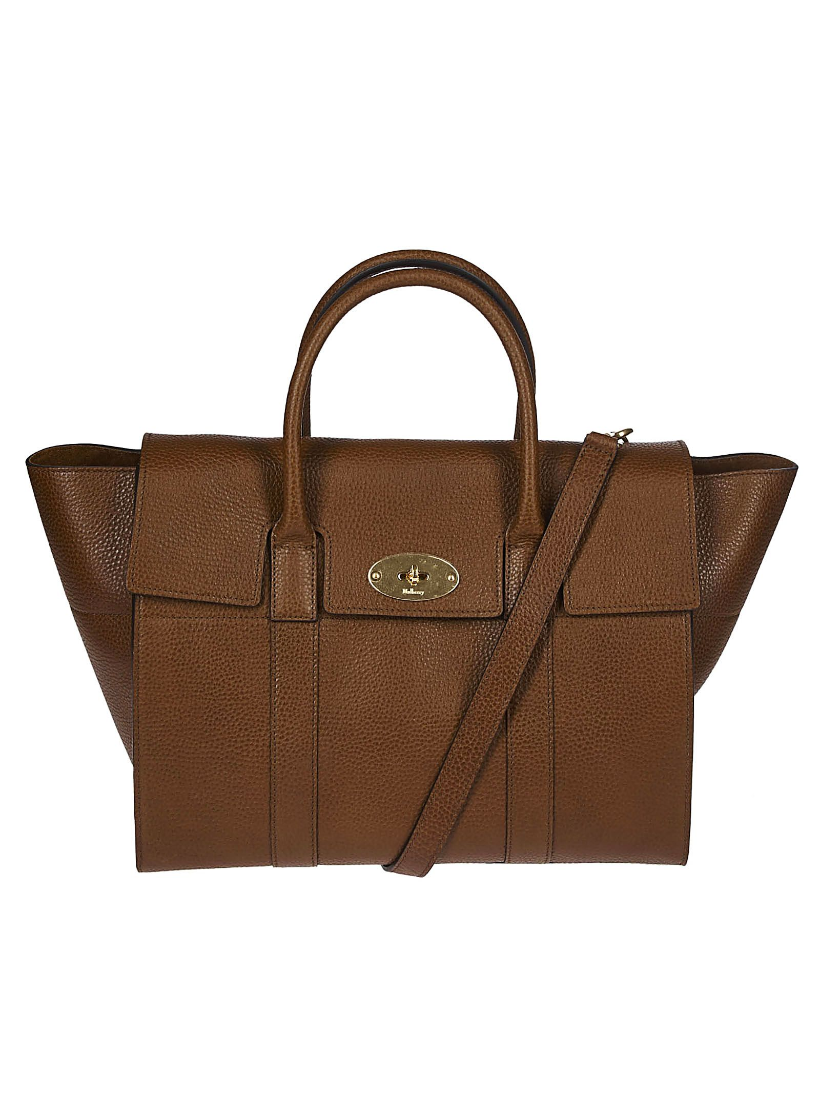 d831fa0b0b Mulberry Mulberry Fold-over Closure Tote - Brown - 10829497 | italist