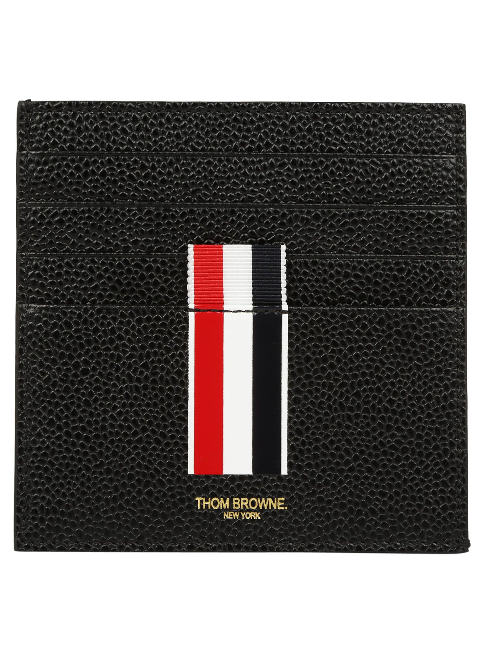 f25b7a460bf Thom Browne Thom Browne Card Holder - Black - 10783367