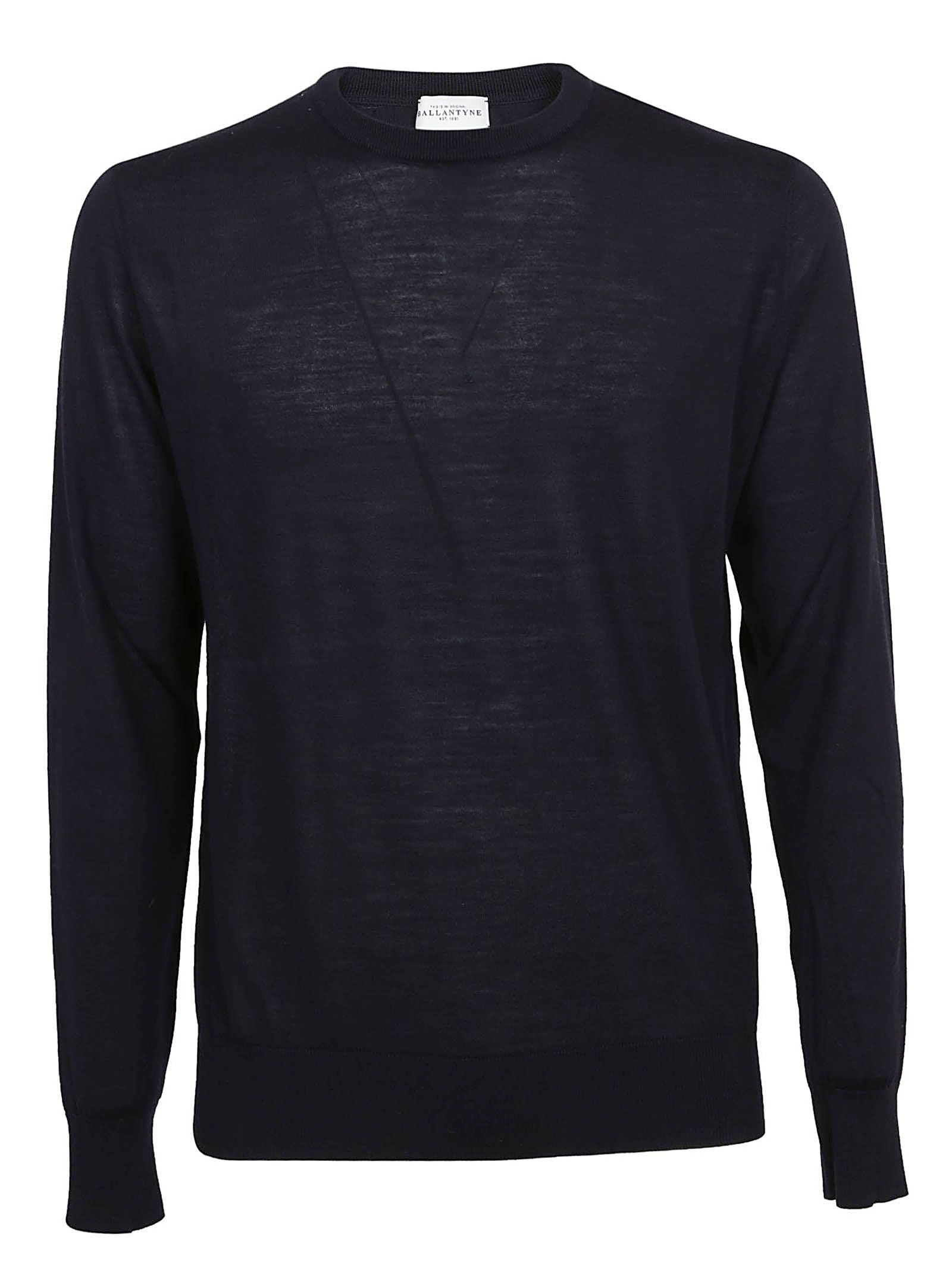 25bb2dd17 Ballantyne Ballantyne Crew Neck Sweater - Nero - 10681546