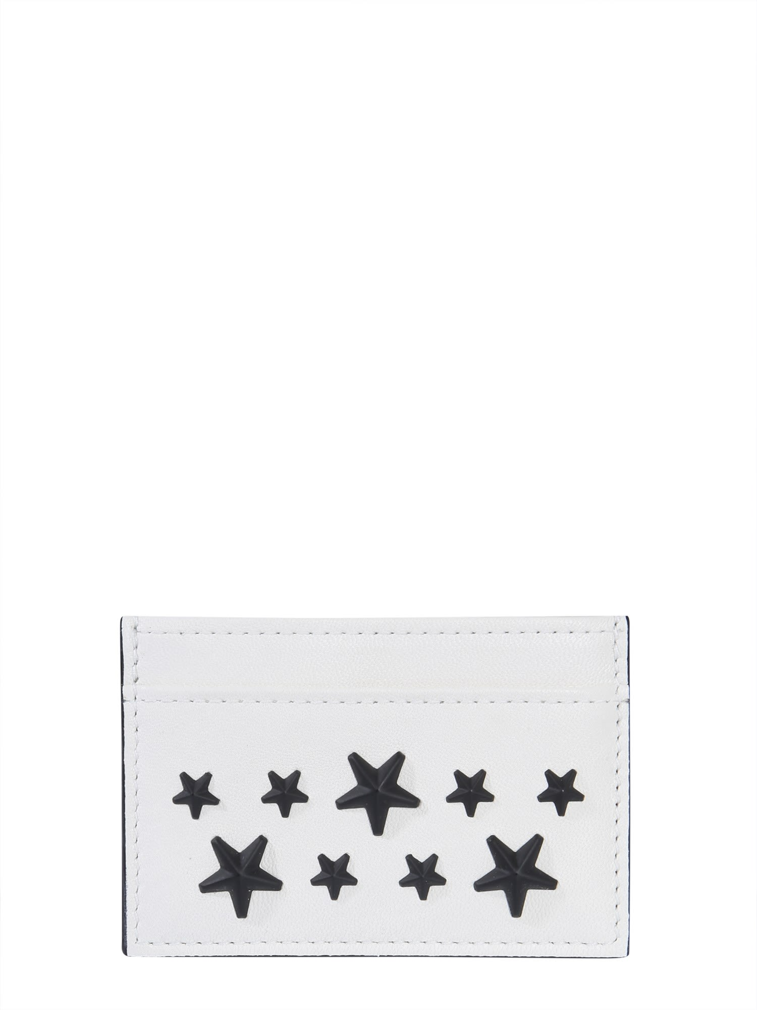 fa7a5725b Jimmy Choo Jimmy Choo Dean Card Holder - BIANCO - 10913889 | italist