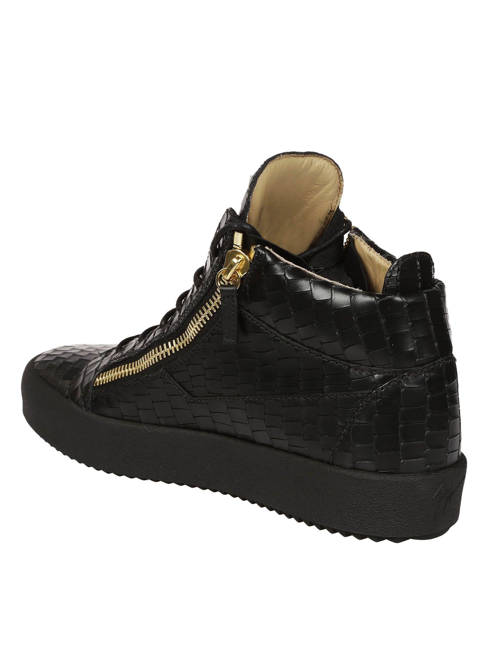 e1a13a14715a Giuseppe Zanotti Giuseppe Zanotti Kriss Hi-top Sneakers - Black ...