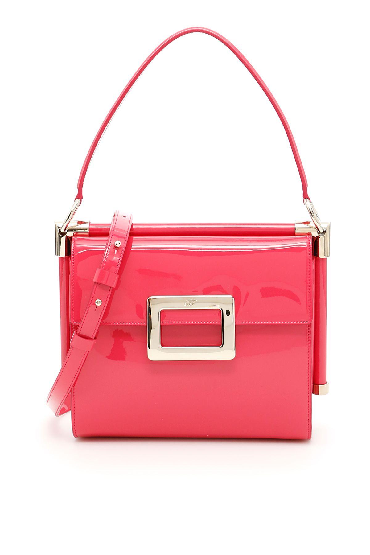 3d9b532a54cf Roger Vivier Miss Viv Carré Small Bag - ROSA ALTEA