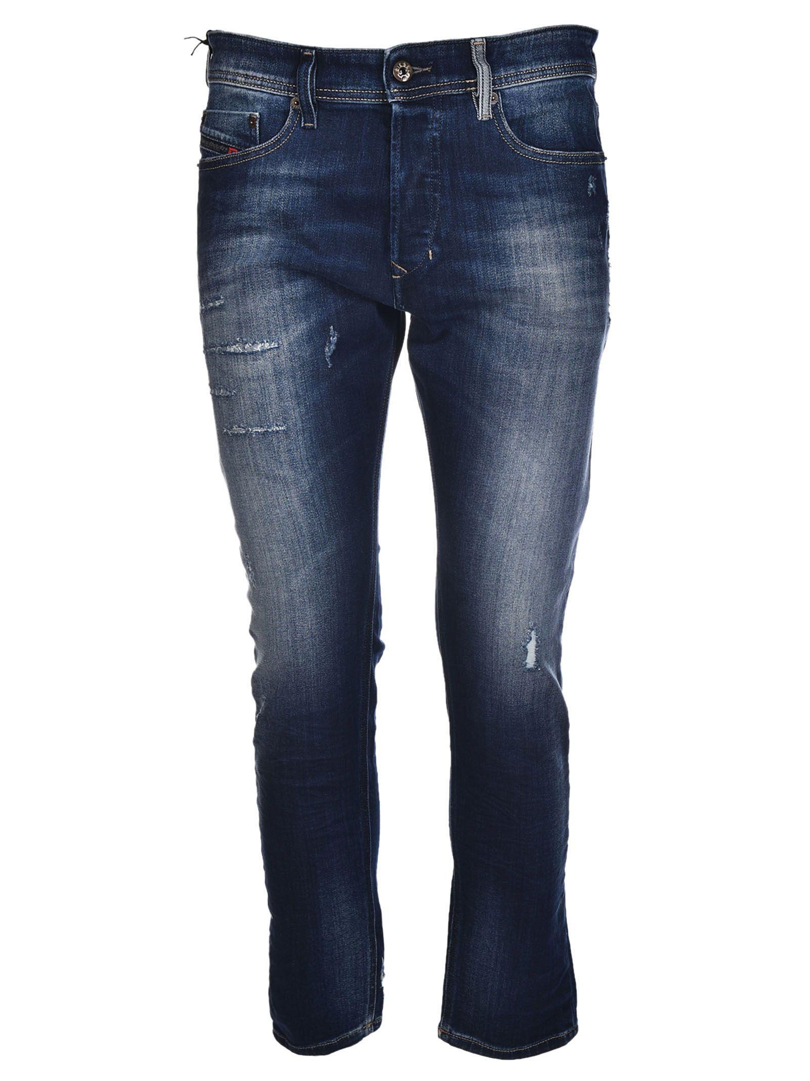 a3c1c9b6 Diesel Diesel Distressed Jeans - Blue - 8304417 | italist