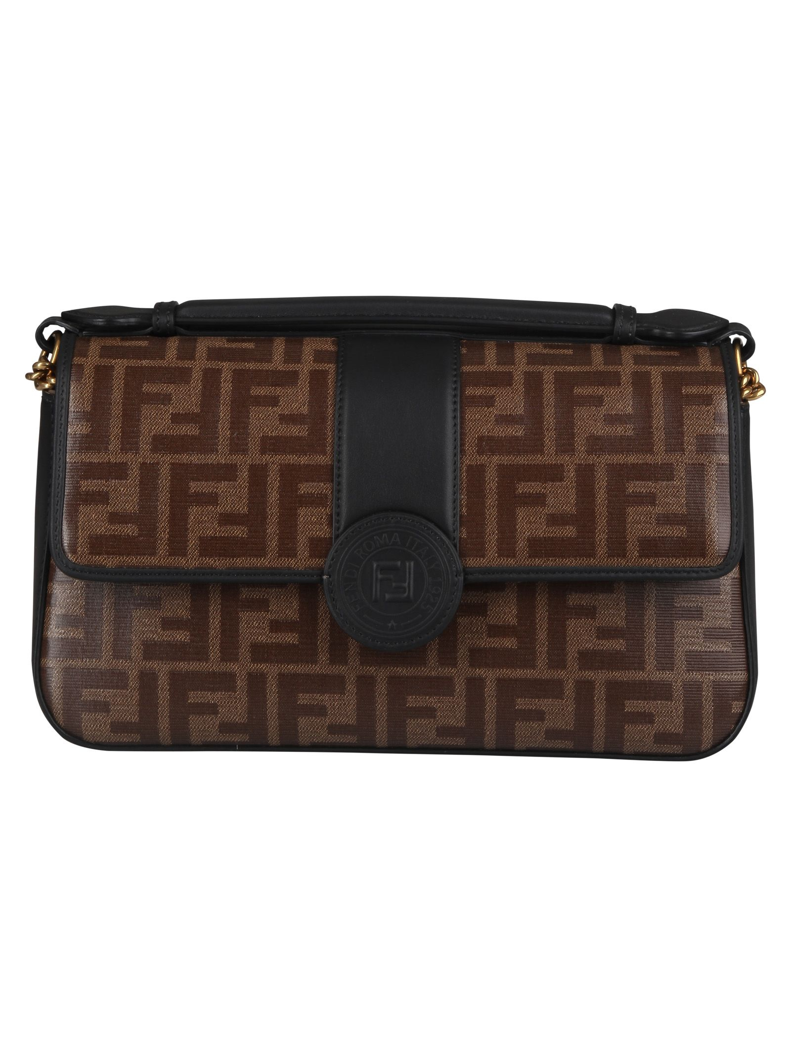 4b6c697f2026 Fendi Fendi Double F Shoulder Bag - Basic - 10765573