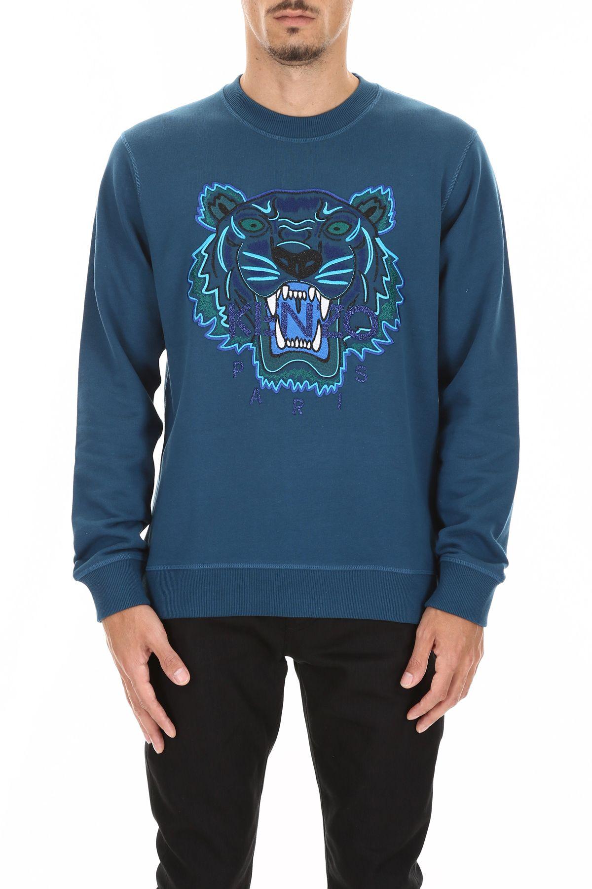 8af86647dc3bb6 italist | Best price in the market for Kenzo Kenzo Tiger Sweatshirt ...