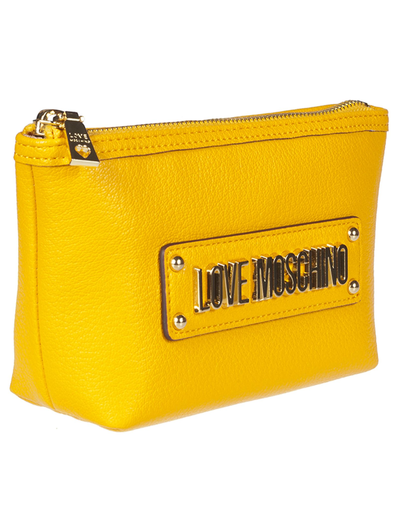 3eeebb46dc8 Love Moschino Love Moschino Logo Clutch - 10840723 | italist