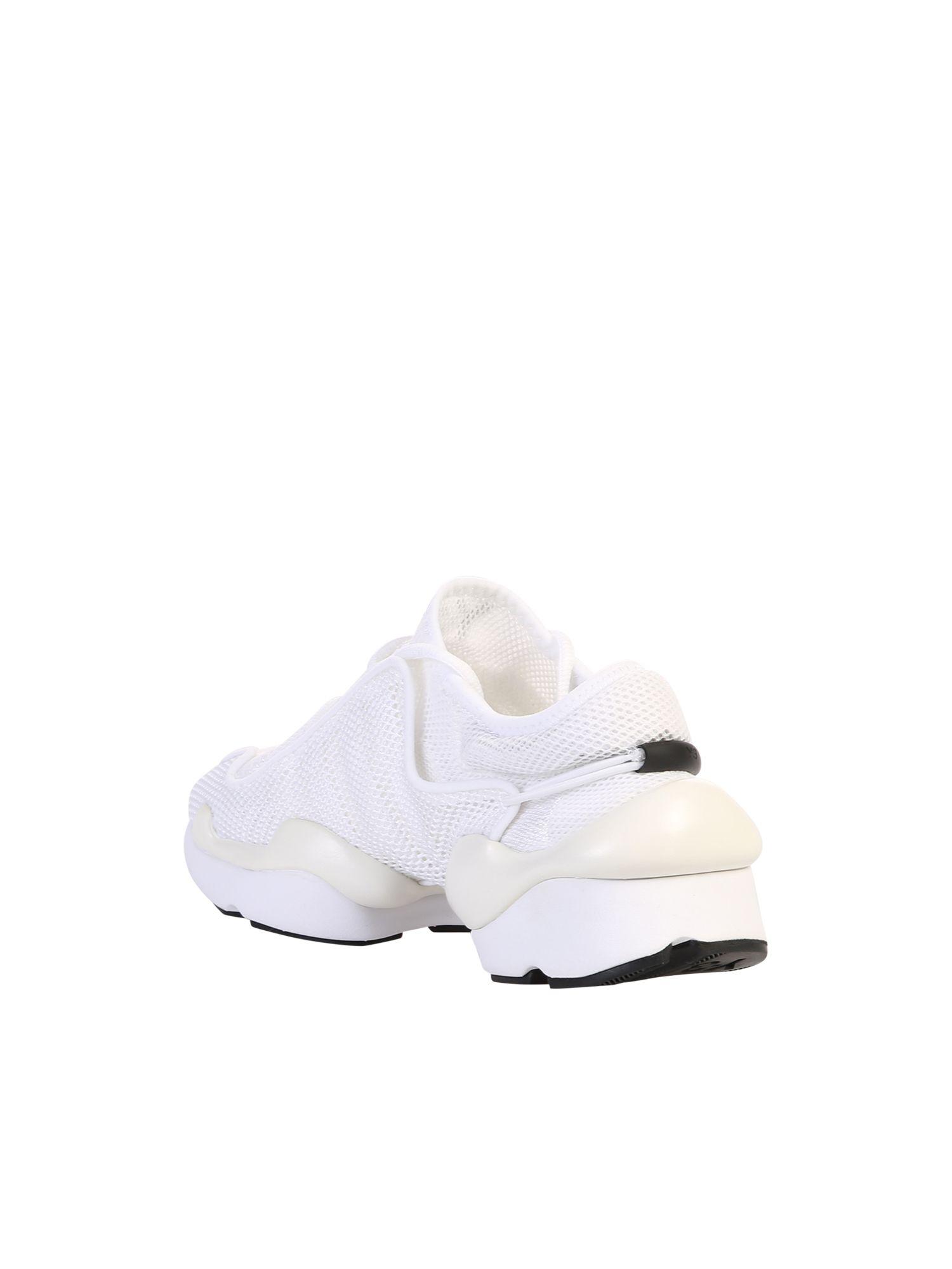 9807bef2d Y-3 Y-3 Y-3 Kaiwa Pod Sneakers - White - 10873504