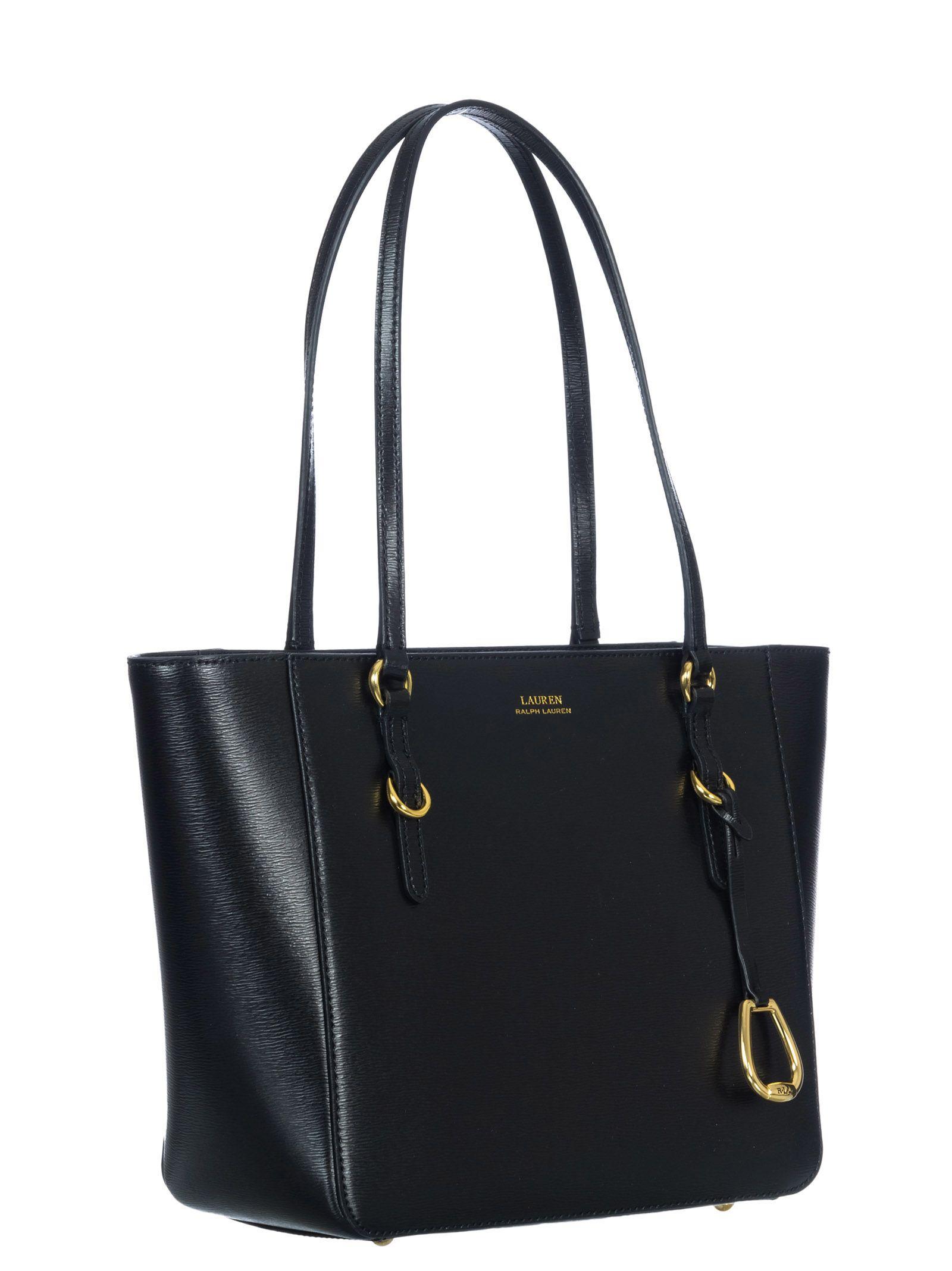 78bd48117691 Ralph Lauren Ralph Lauren Leather Tote Bag - Black - 10632164