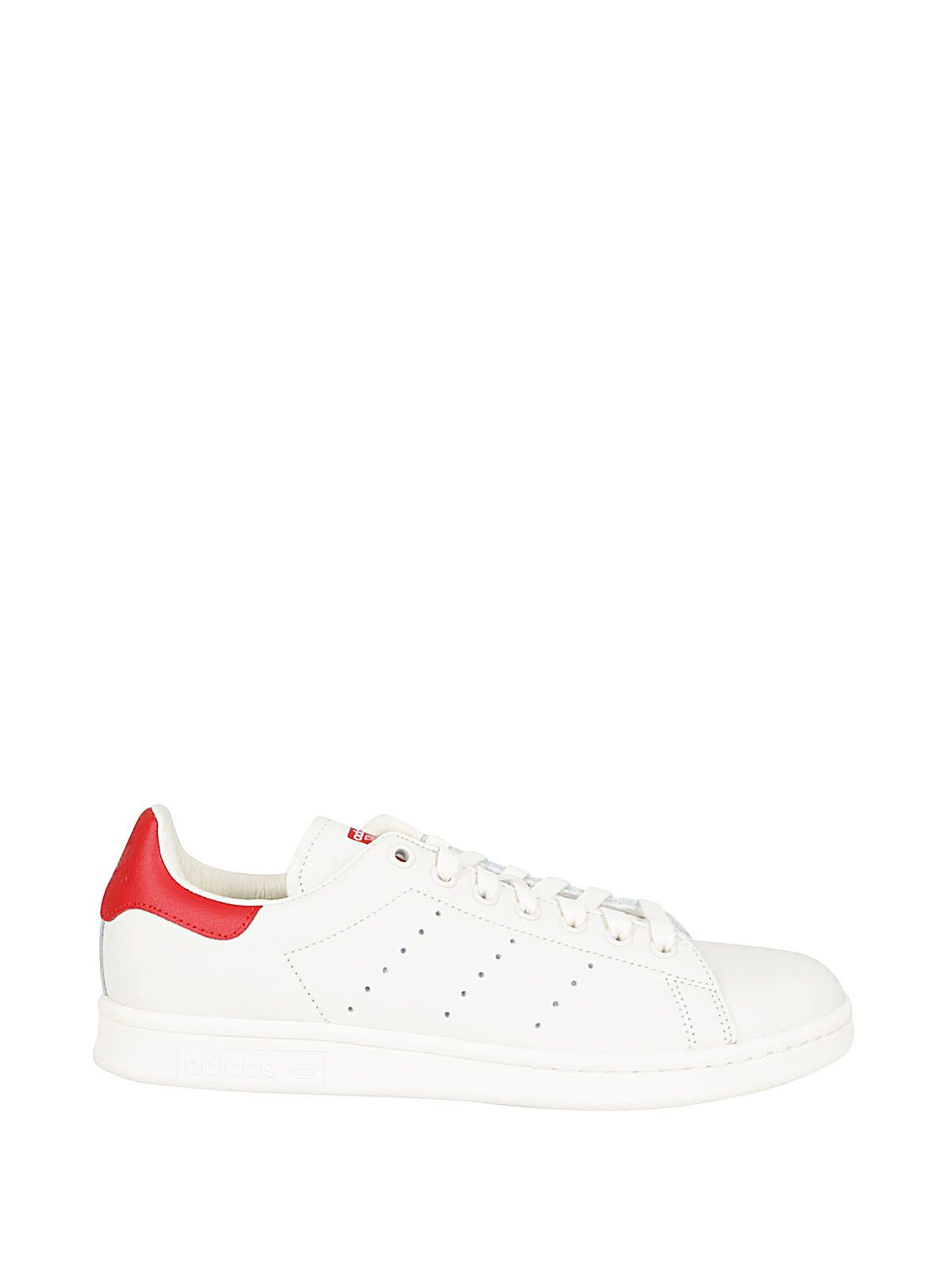 online retailer d9fd9 bb1a4 Adidas Originals Adidas Stan Smith Sneakers - Bianco rosso ...