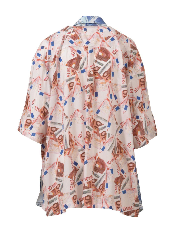 f288fdd3 Balenciaga Balenciaga Double Euro Shirt - Pink - 10600586 | italist