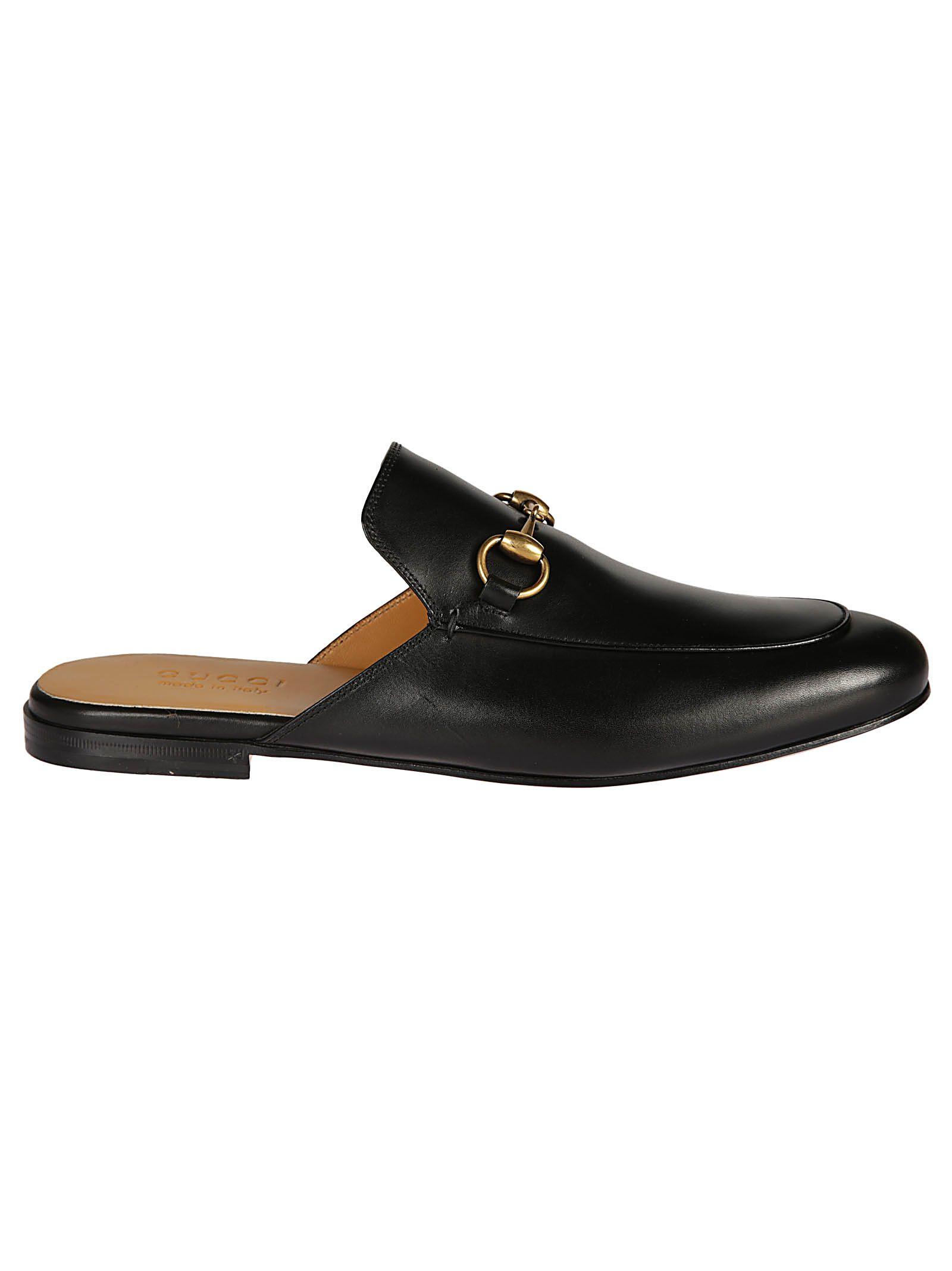 bf4ff84334f2 Gucci Gucci Horsebit Slippers - black - 10513126