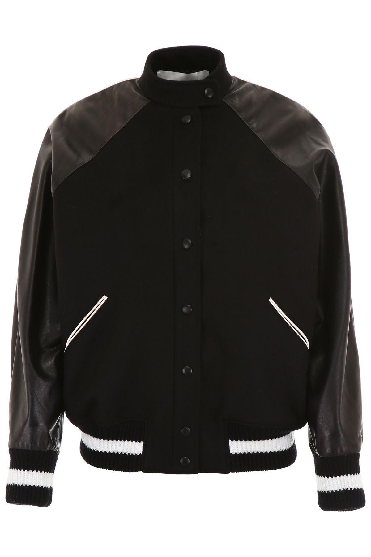 Valentino Jacket Bomber Nero nero Vltn FrqFTxS