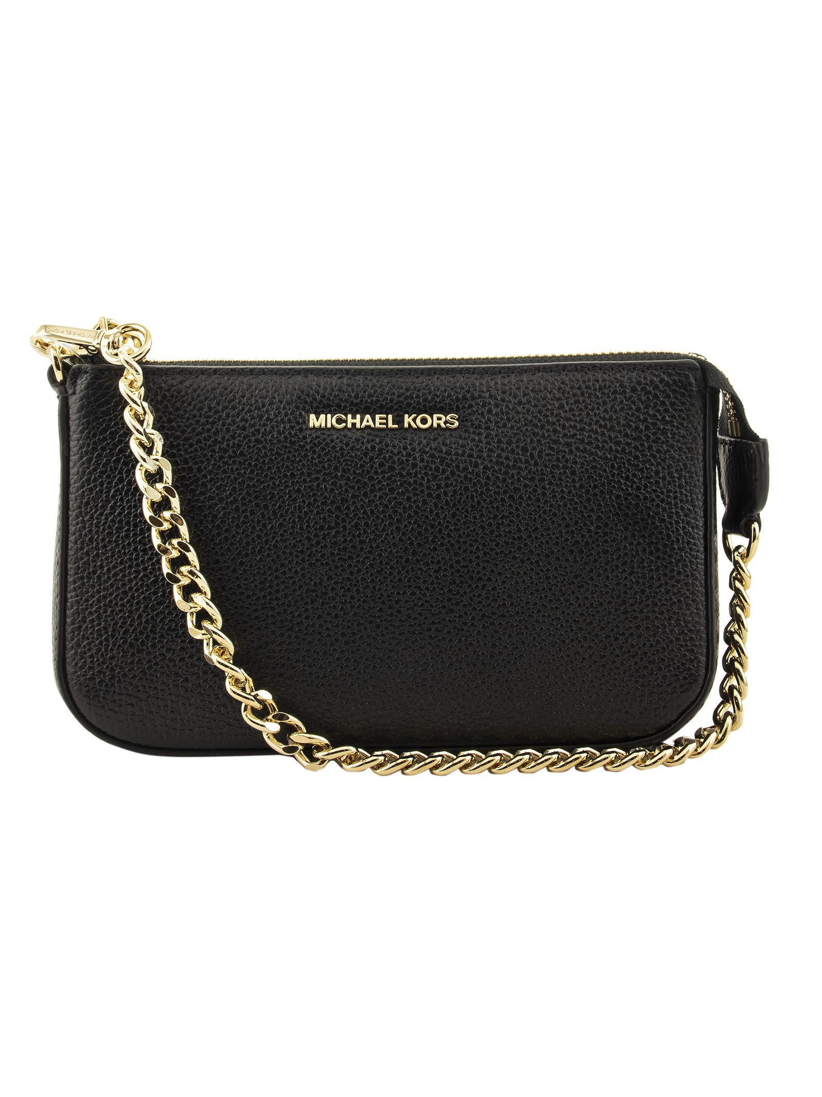 193022588b275e Michael Kors Michael Kors Jet Set Chain Handbag - Black - 10853838 ...