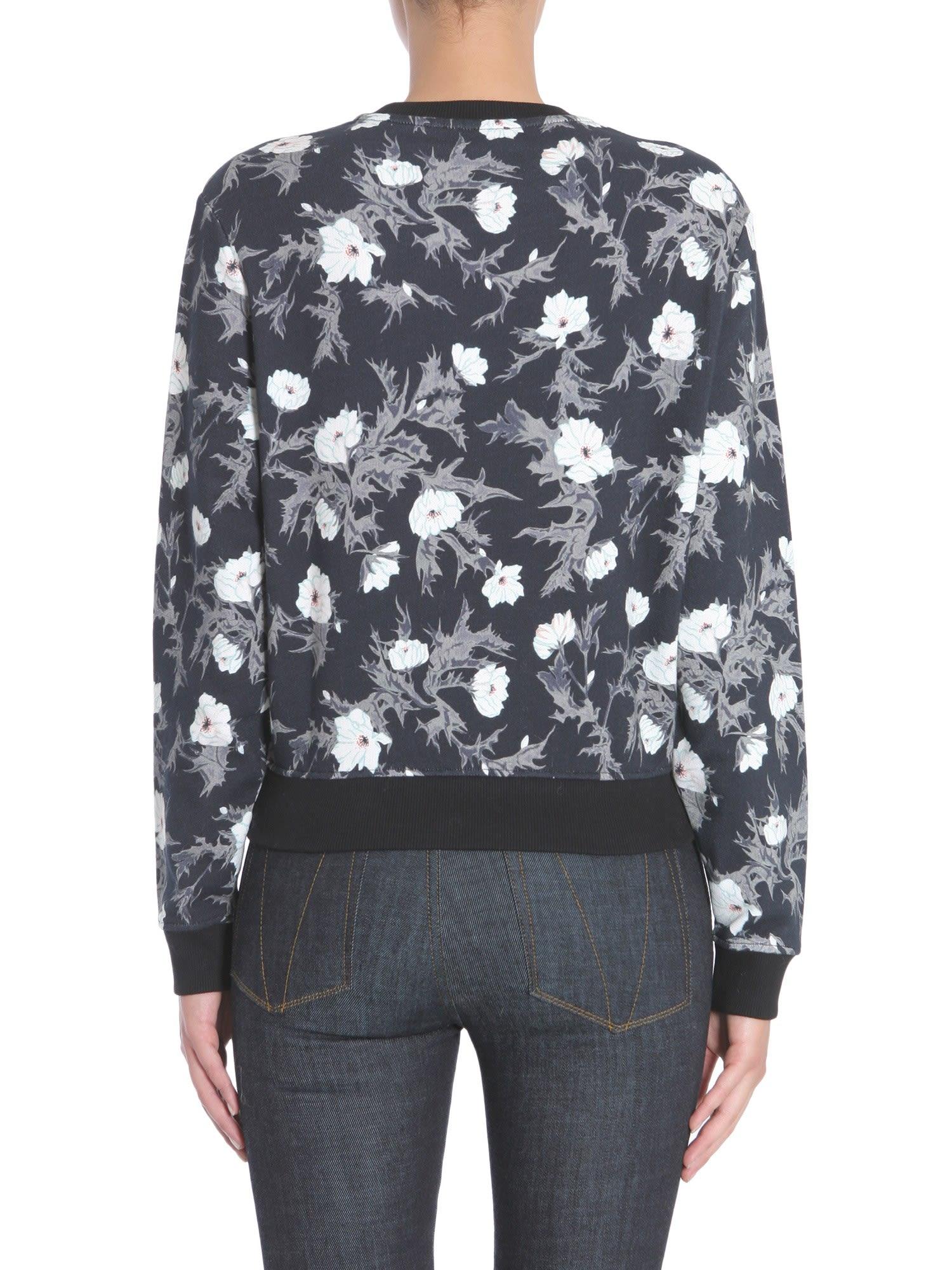 5ca204c947 Carven Carven Round Collar Sweatshirt - Black - 7700135
