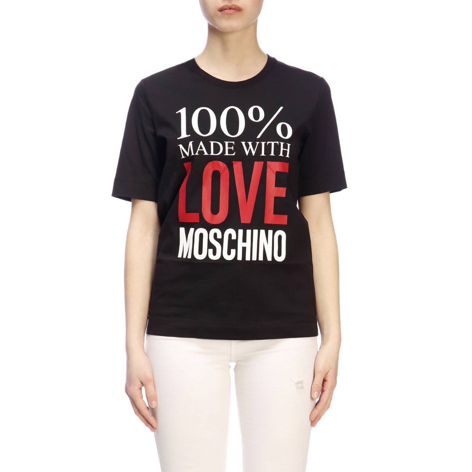 789a21ec7db Love Moschino Love Moschino T-shirt T-shirt Women Moschino Love ...