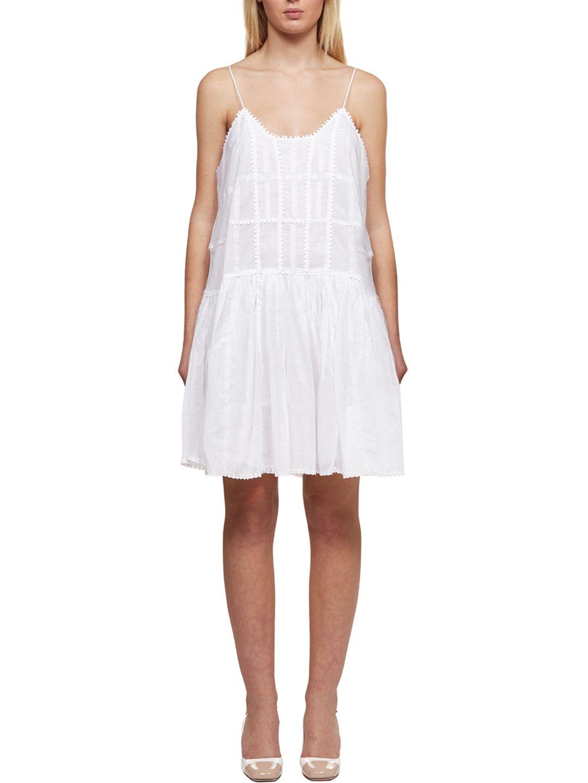 ea6d4168e0f Isabel Marant Étoile Isabel Marant étoile Amelie Dress - Bianco ...