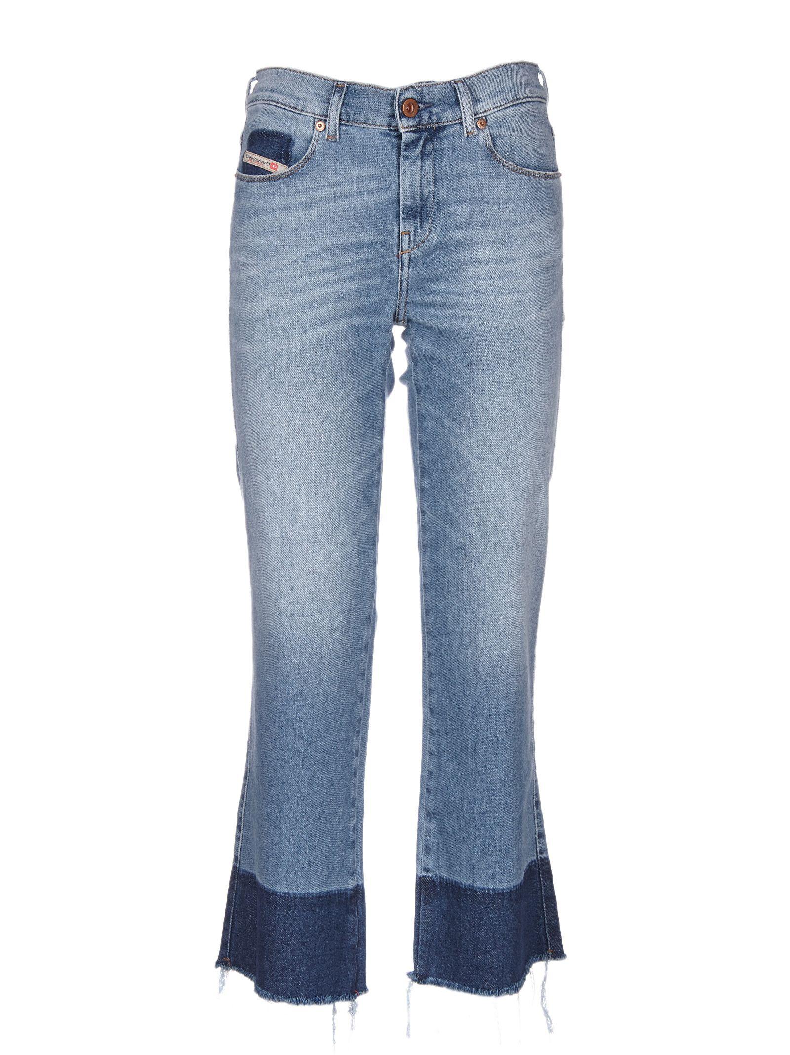 70b6ccc116 Diesel Diesel Skinny Fit Flared Jeans - Blue - 10579961