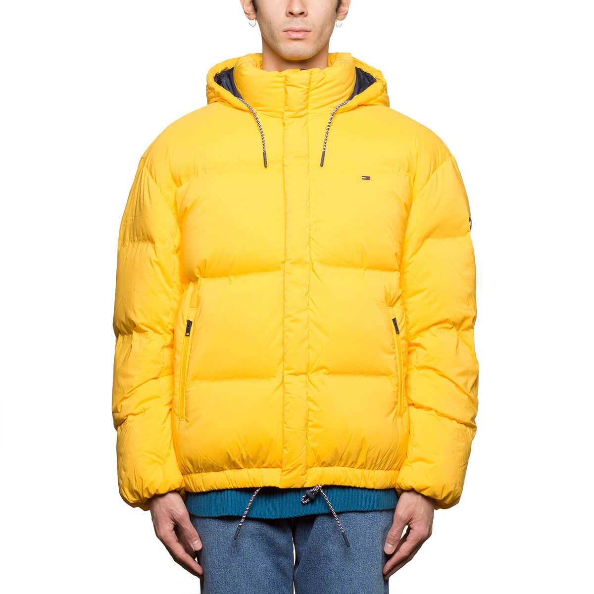 Tommy Hilfiger Tommy Hilfiger Oversize Down Jacket Yellow
