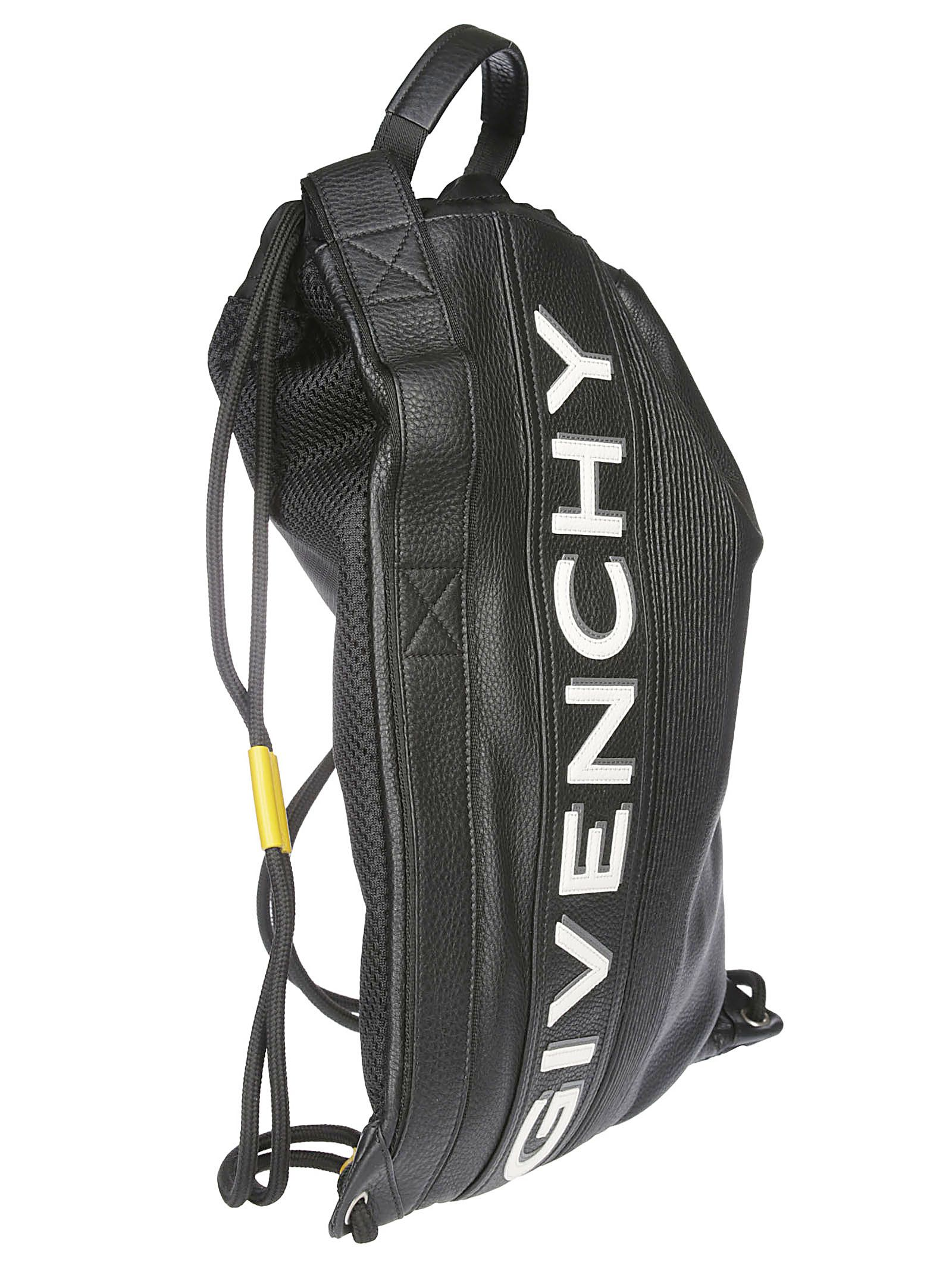58c33338437d16 Givenchy Givenchy Mc3 Drawstring Backpack - Black - 10833998 | italist