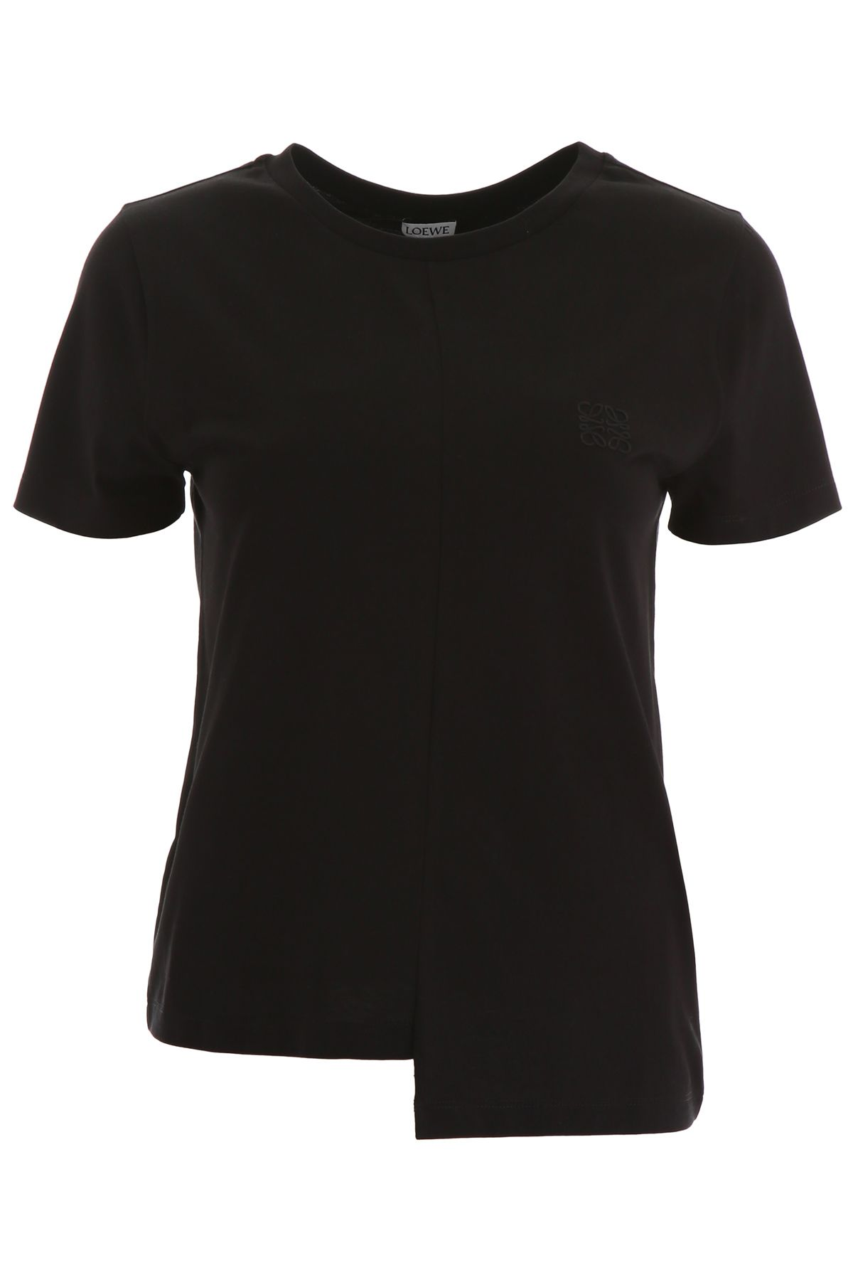 dee51a03772 Loewe Loewe T-shirt With Logo Embroidery - BLACK (Black) - 10977915 ...