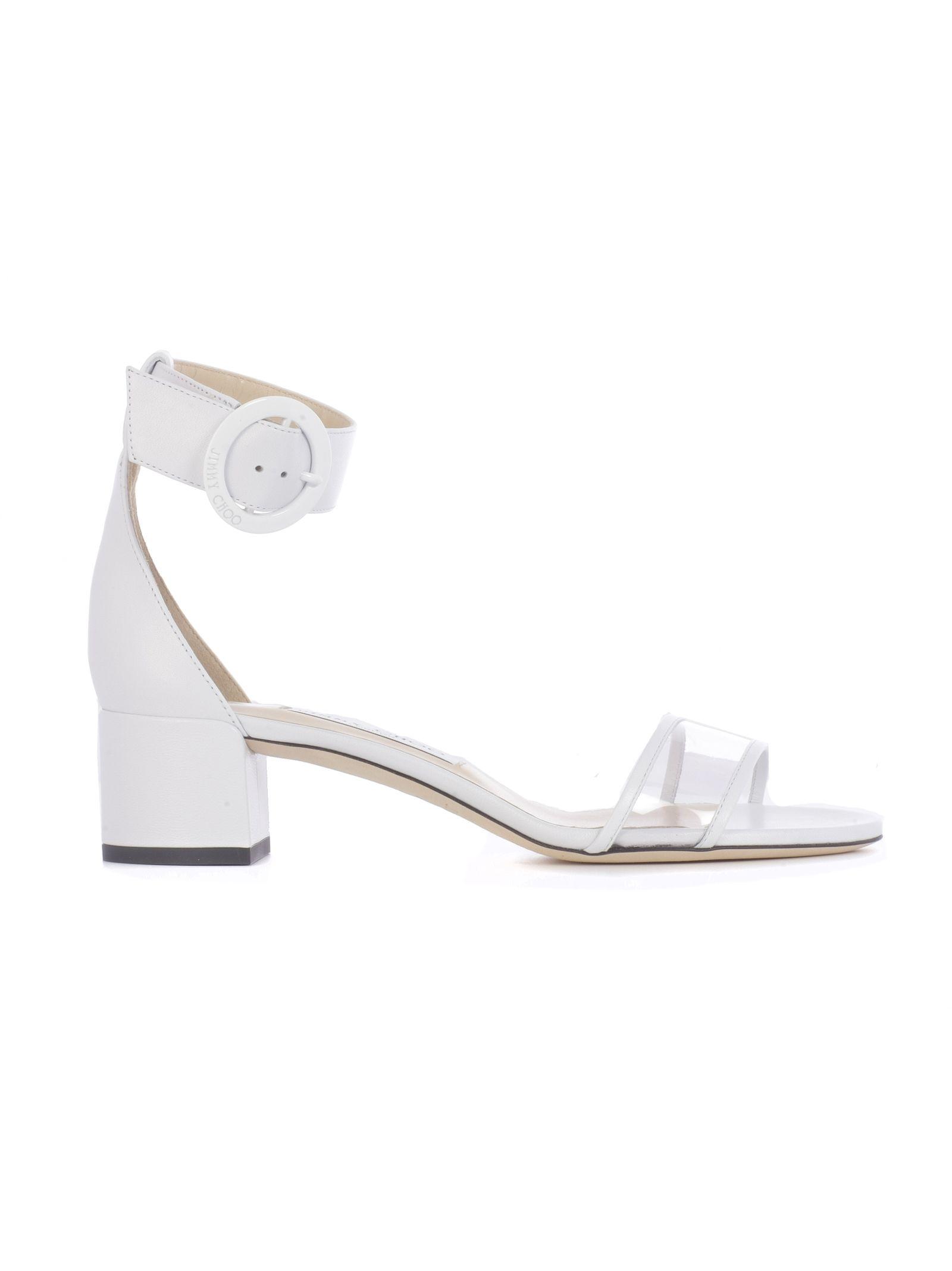 f320c199ddabd Jimmy Choo Jimmy Choo Jaimie 40 Flat Sandals - Basic - 10813514 ...
