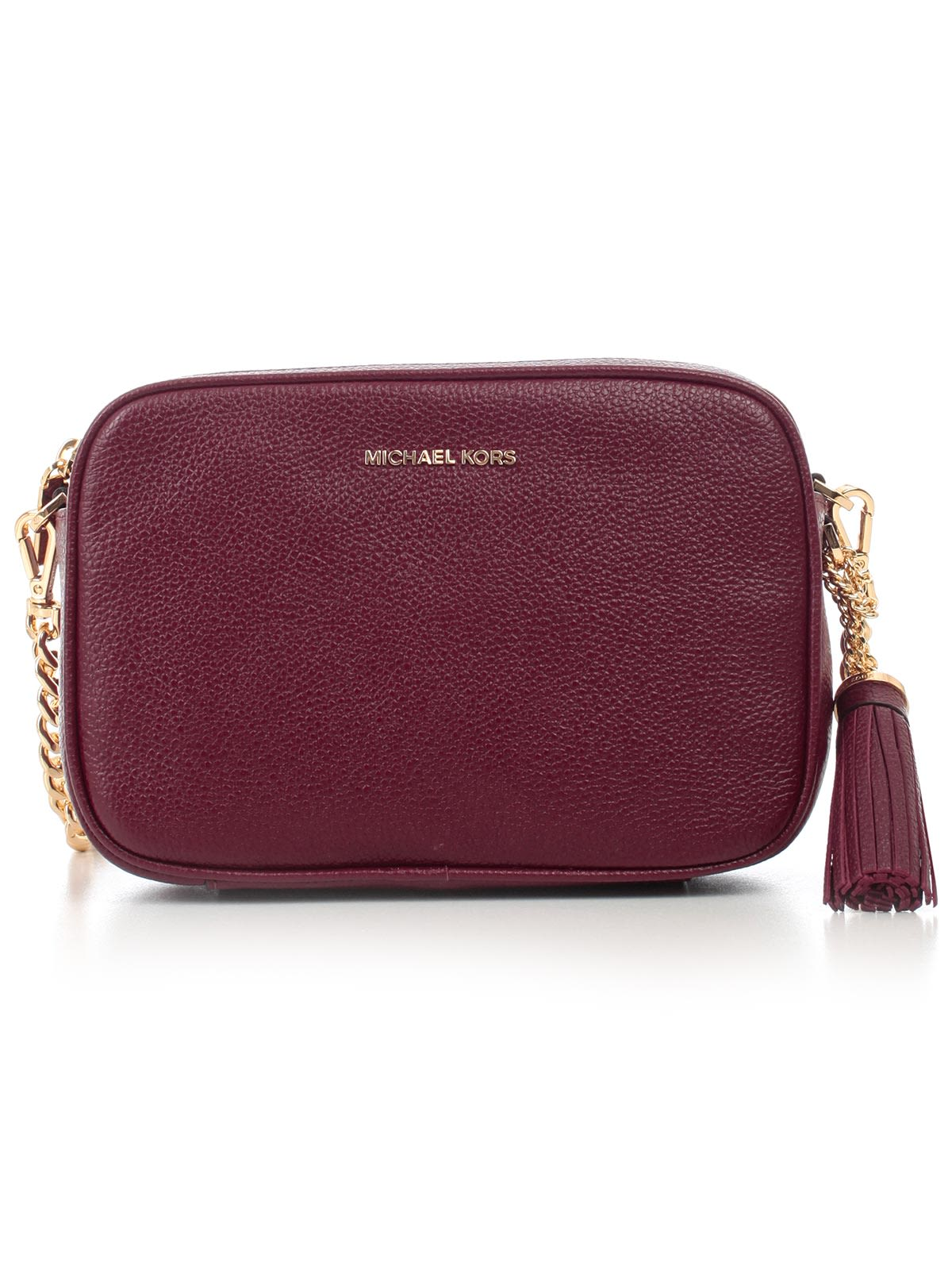 e1666d24da72 MICHAEL Michael Kors Ginny Medium Camera Shoulder Bag - Oxblood ...