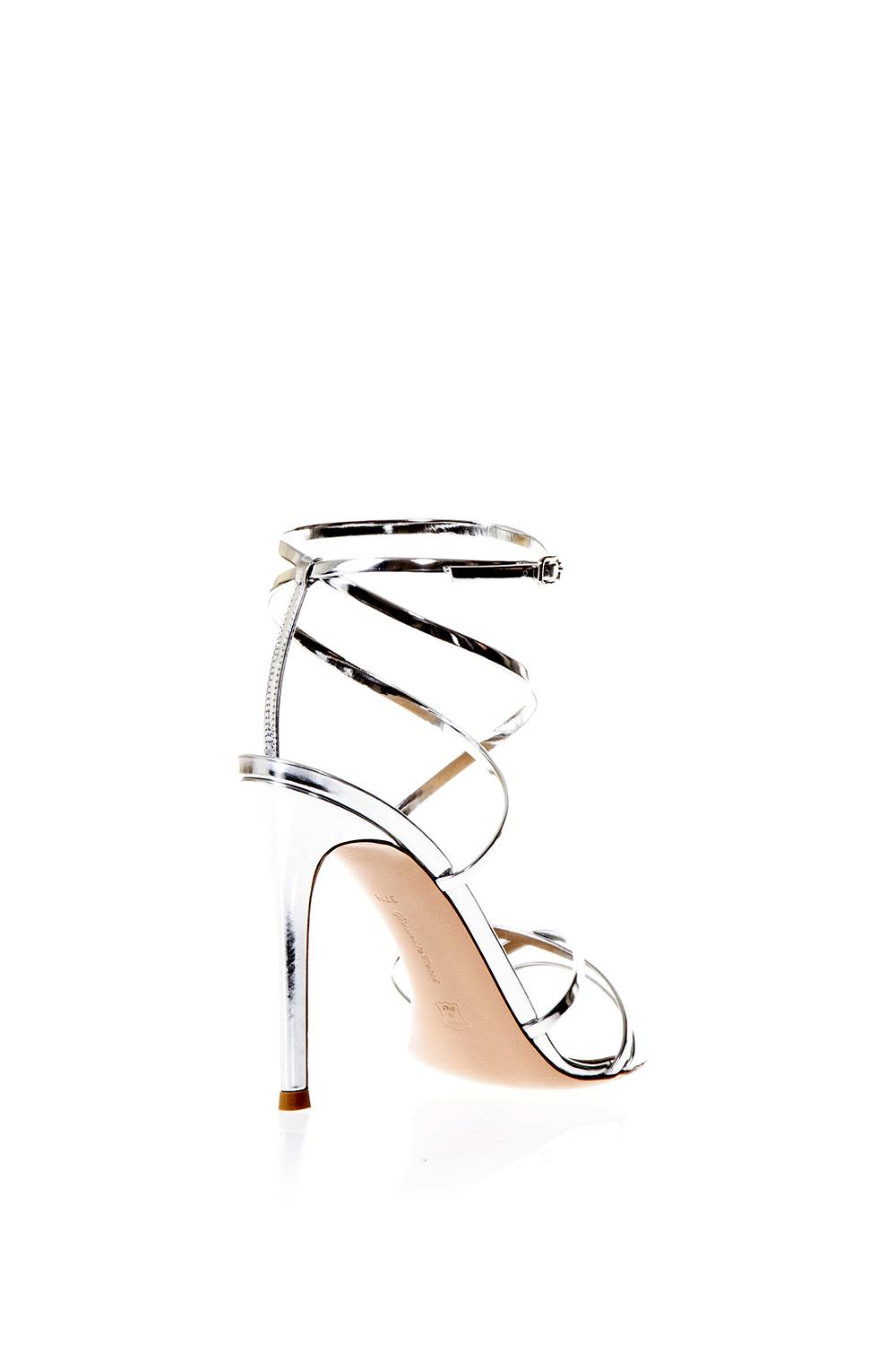 gianvito rossi gianvito rossi metarge silver sandals in leather 30 Inch Heels Lady Gaga gianvito rossi metarge silver sandals in leather silver