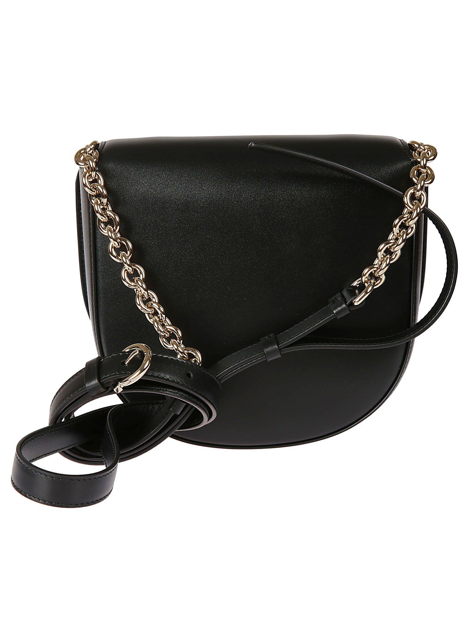 ... Salvatore Ferragamo Vela Crossbody Bag - Black ... c863946243141