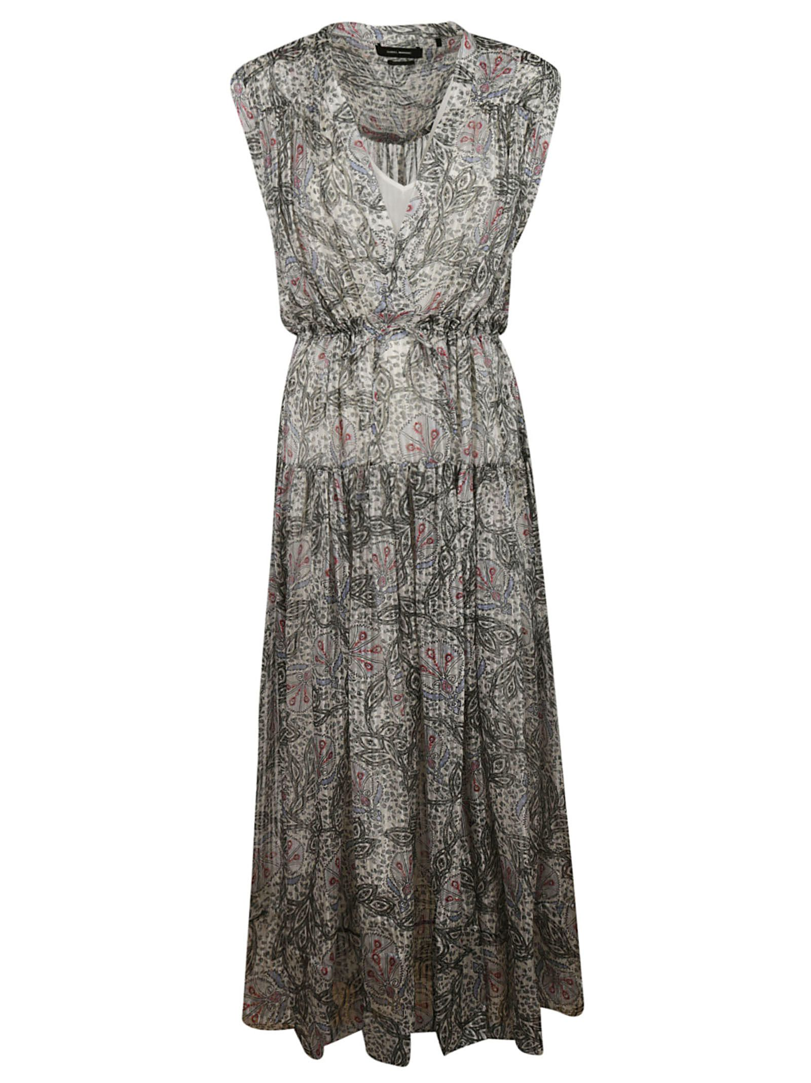 116dac4ee0c Isabel Marant Isabel Marant Printed All-over Long Dress - Beige ...
