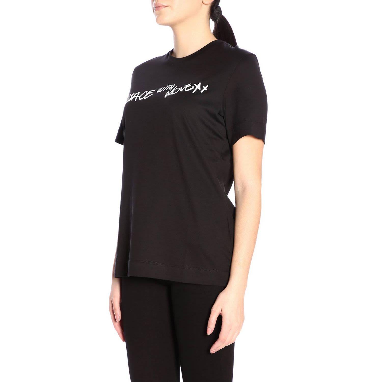 e1eb186c Versace Versace T-shirt T-shirt Women Versace - Black - 10783950 ...