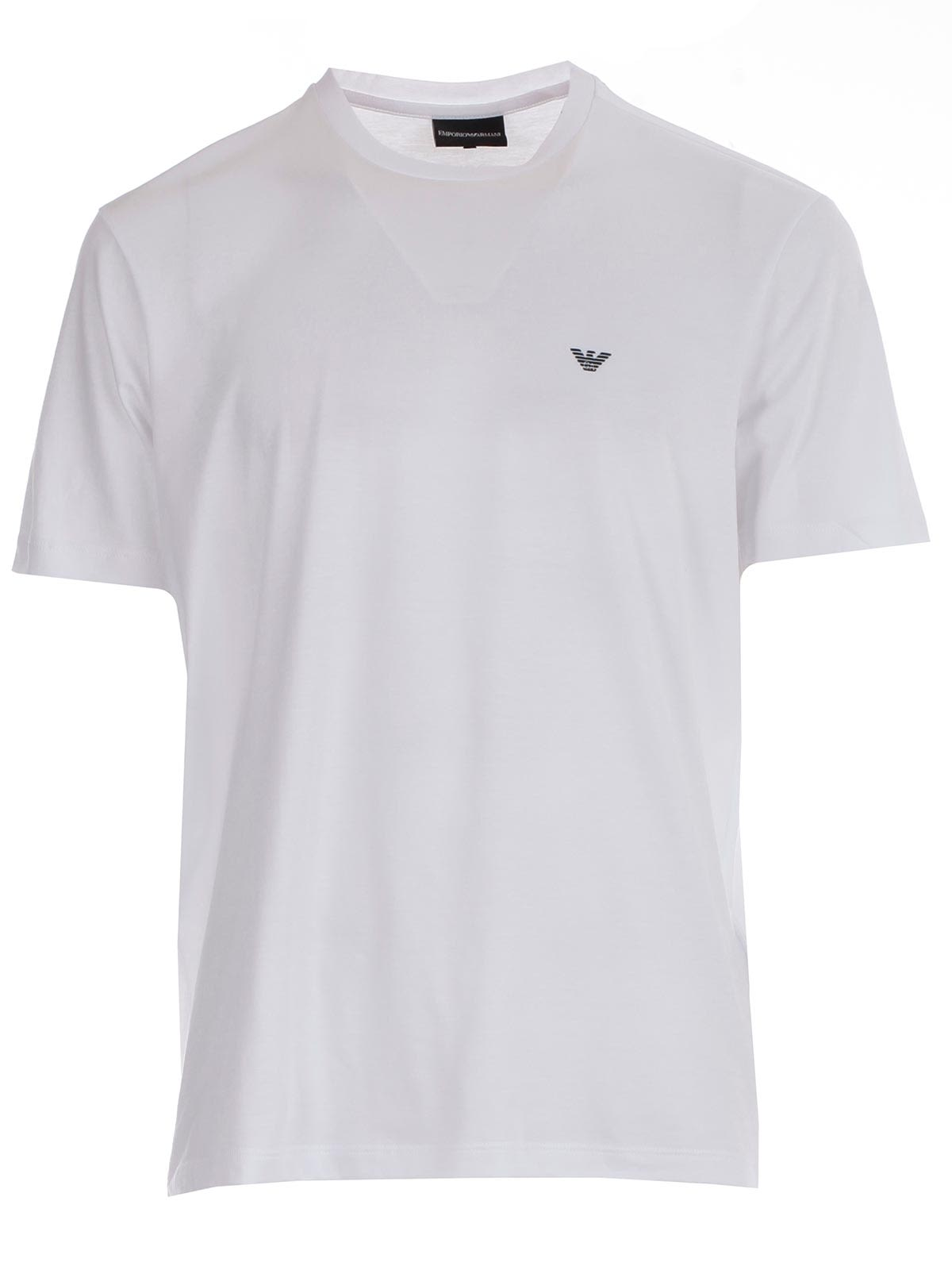 f2b1012f Emporio Armani Emporio Armani Logo T-shirt - Optical White ...