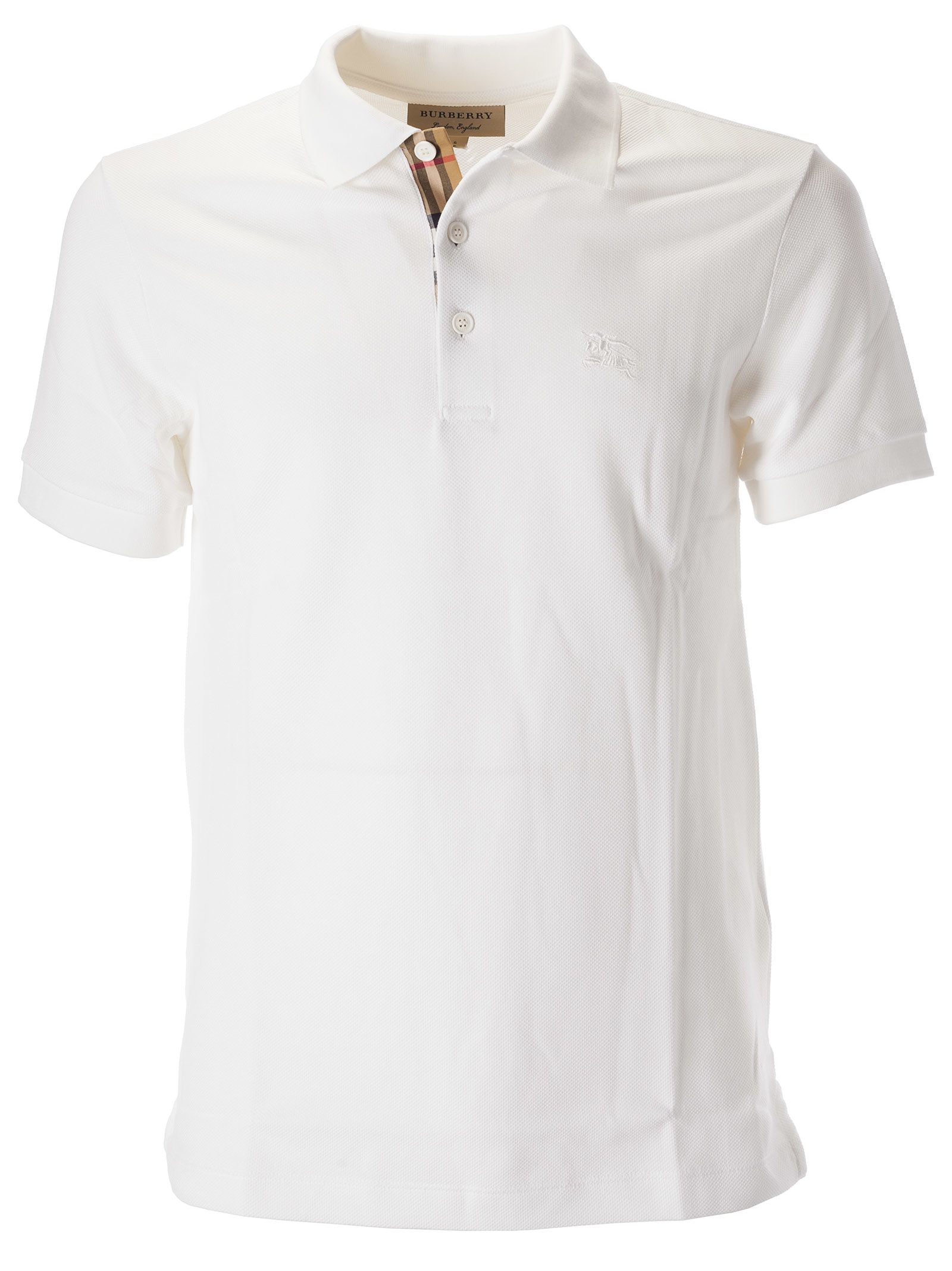 027741617 Burberry Burberry Classic Polo Shirt - White - 10806519