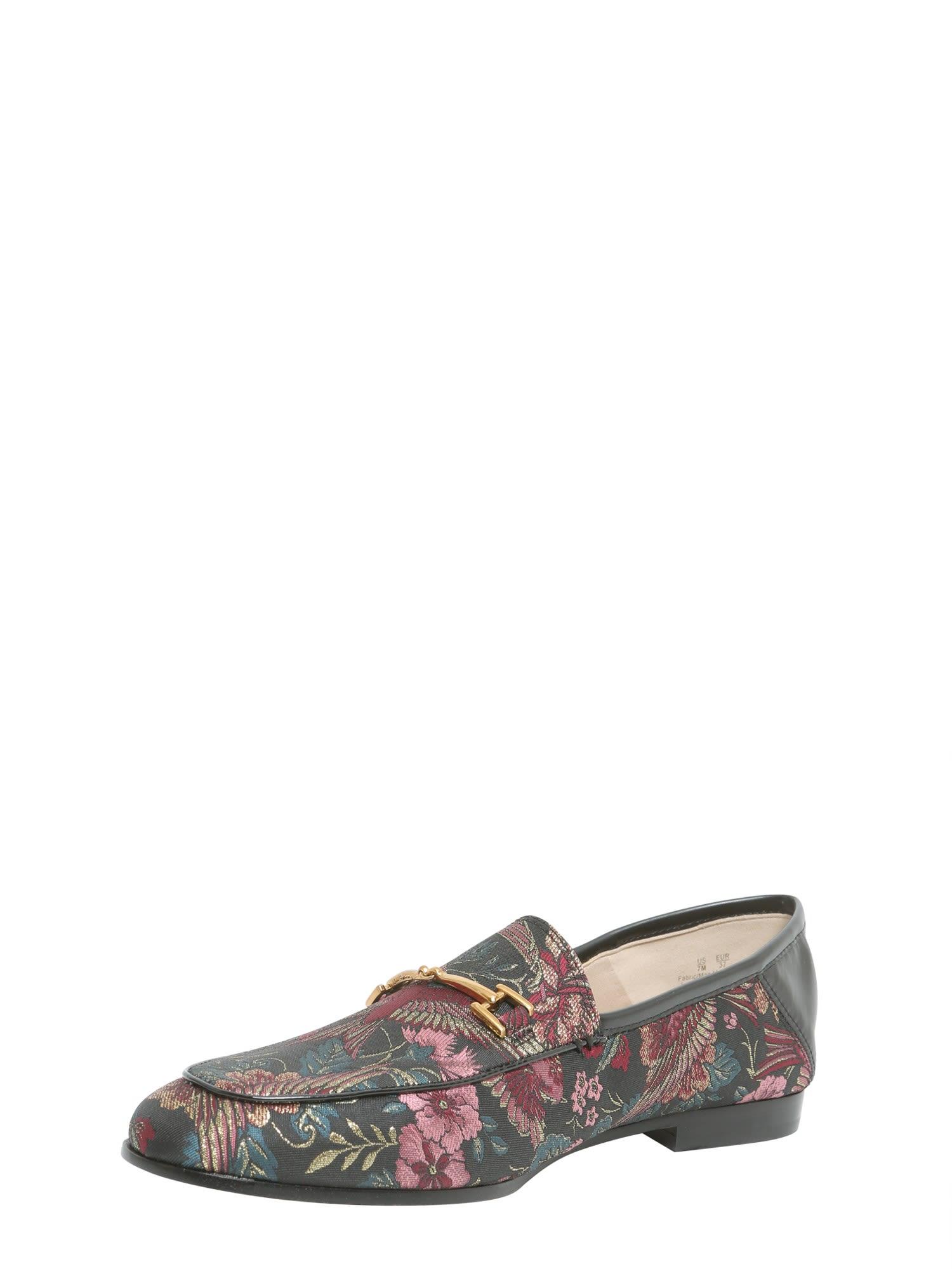 86435183e7305 Sam Edelman Sam Edelman Loraine Loafers In Jacqurd Fabric - Black ...
