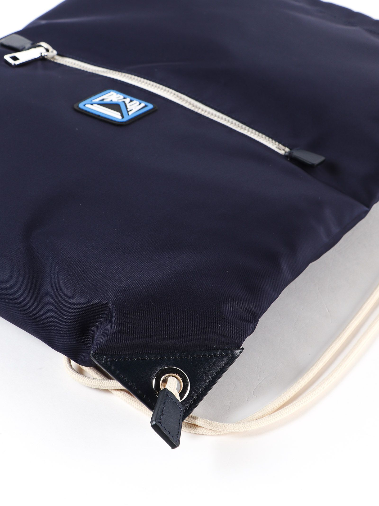 597126eea4d3 Prada Drawstring Backpack - Baltico Prada Drawstring Backpack - Baltico ...