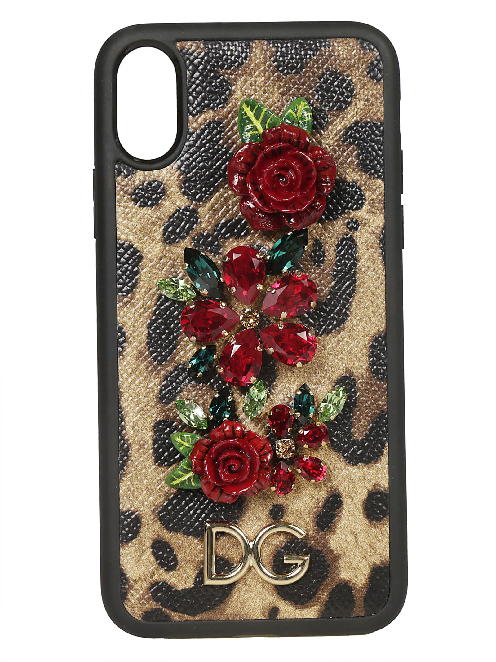 the latest 63bed e336e Dolce & Gabbana Embellished Iphone X Case