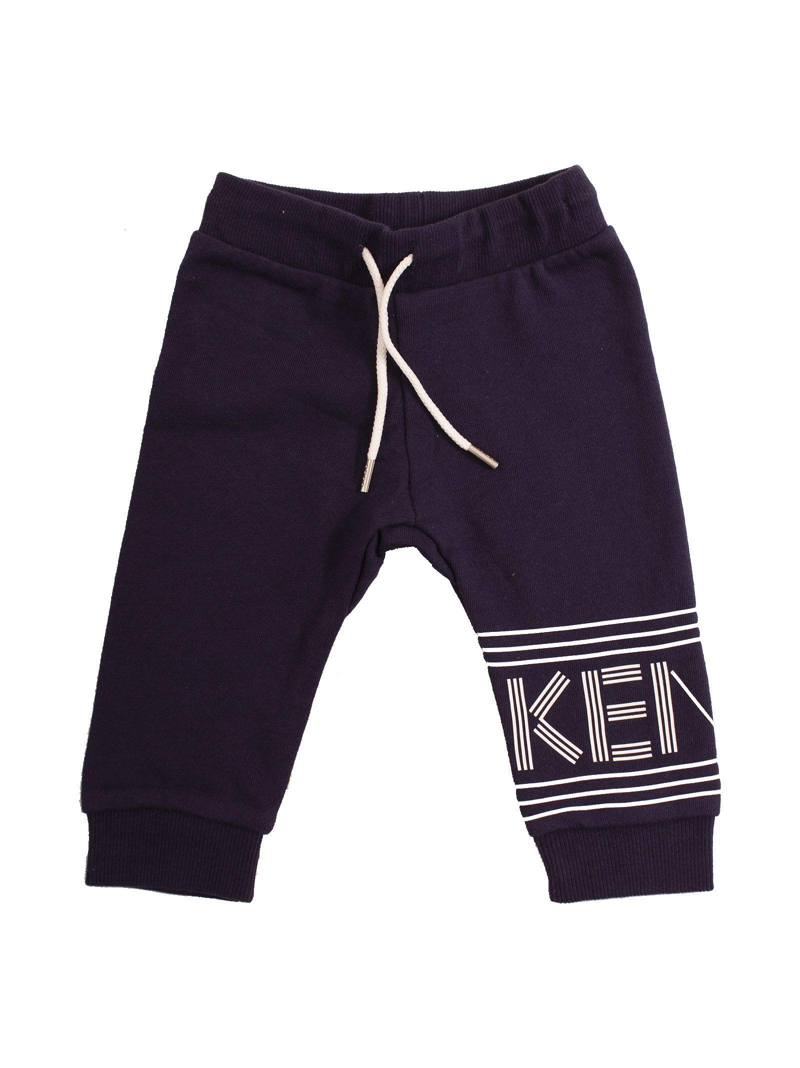 5462442ede75 Kenzo Kids Kenzo Kids Logo Striped Tracksuit - Black - 10906115 ...