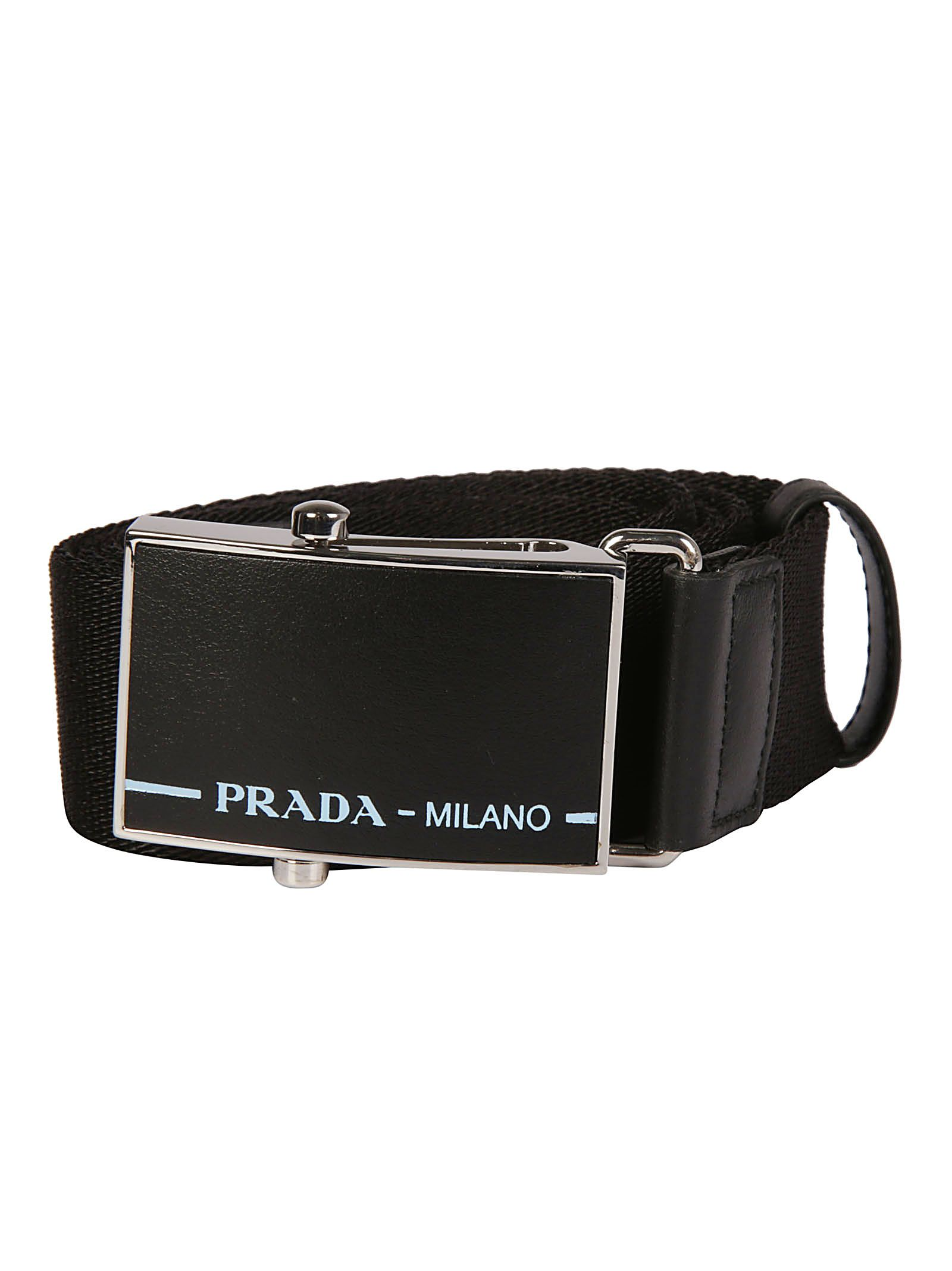 ef36a7fbcd4db Prada Prada Belt - Black - 10785613
