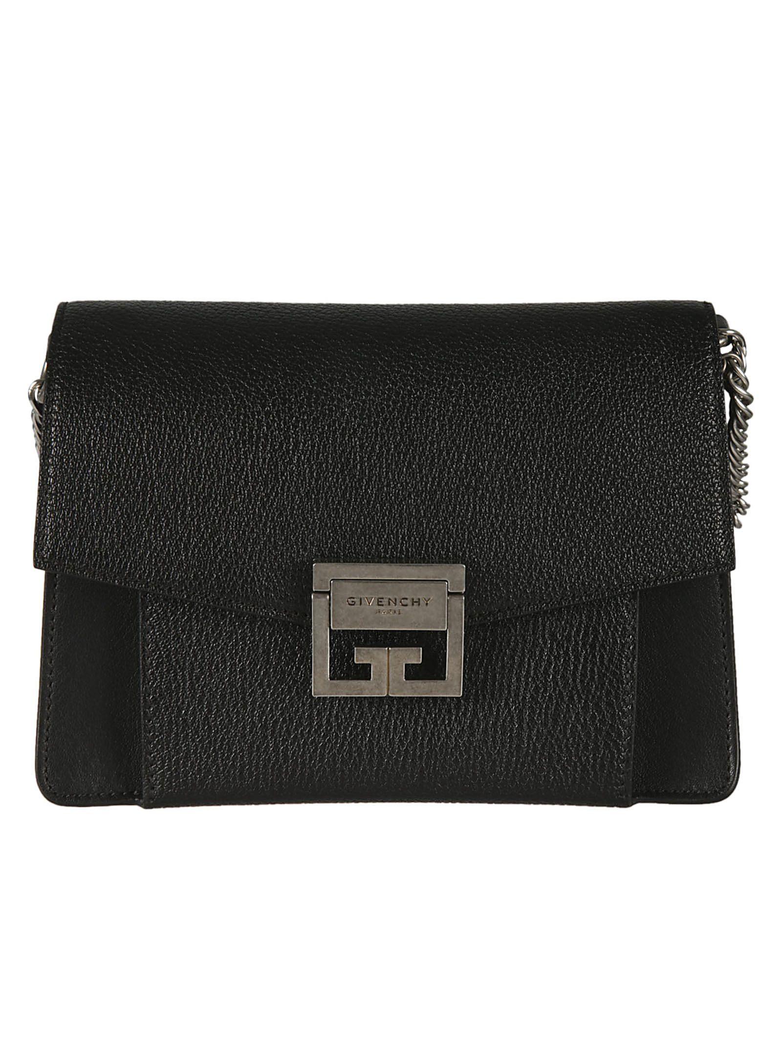 ddb0db6b7a Givenchy Givenchy Gv3 Small Shoulder Bag - Black - 10790346