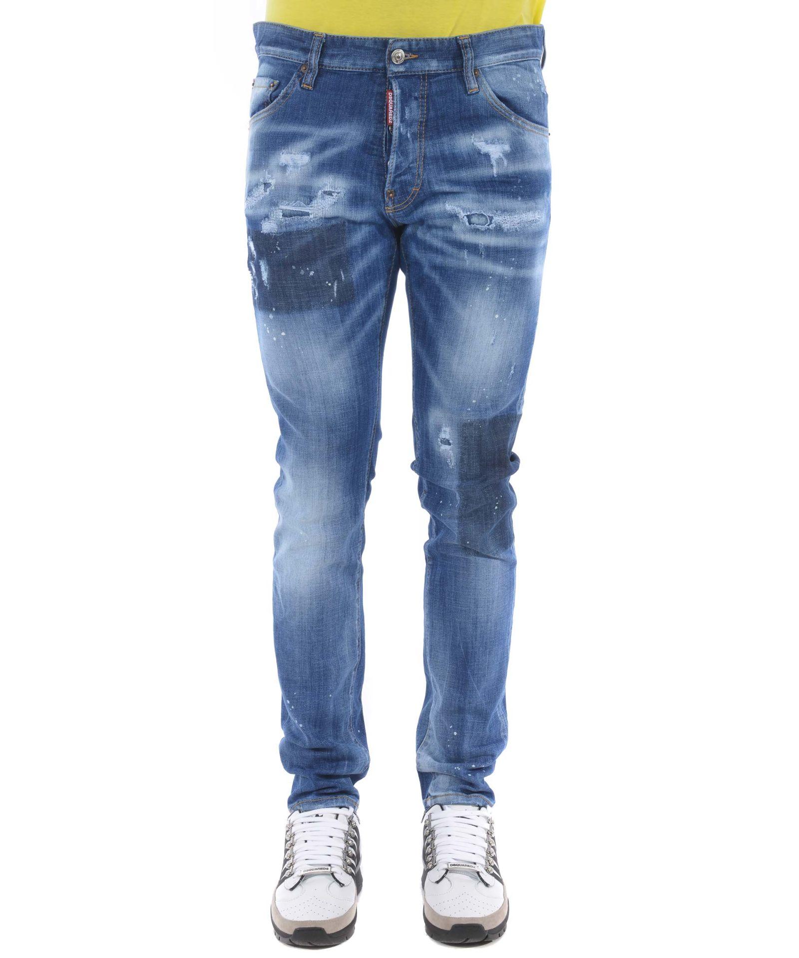 67b46af8a7 Dsquared2 Dsquared2 Cool Guy Distressed Jeans - Denim - 10863308 ...