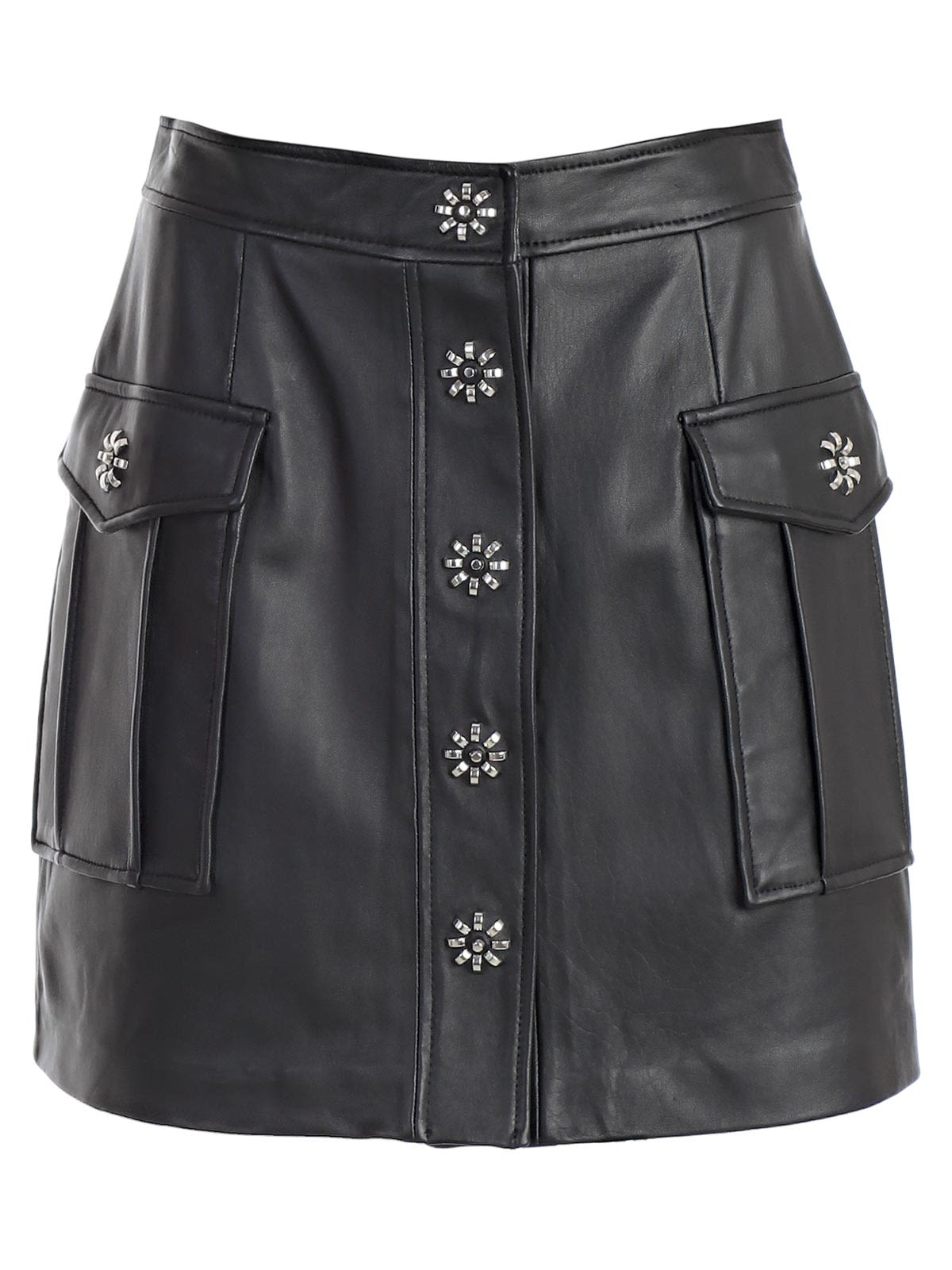 ceb8da0e0b18 MICHAEL Michael Kors Michael Michael Kors Embellished Skirt - Black ...