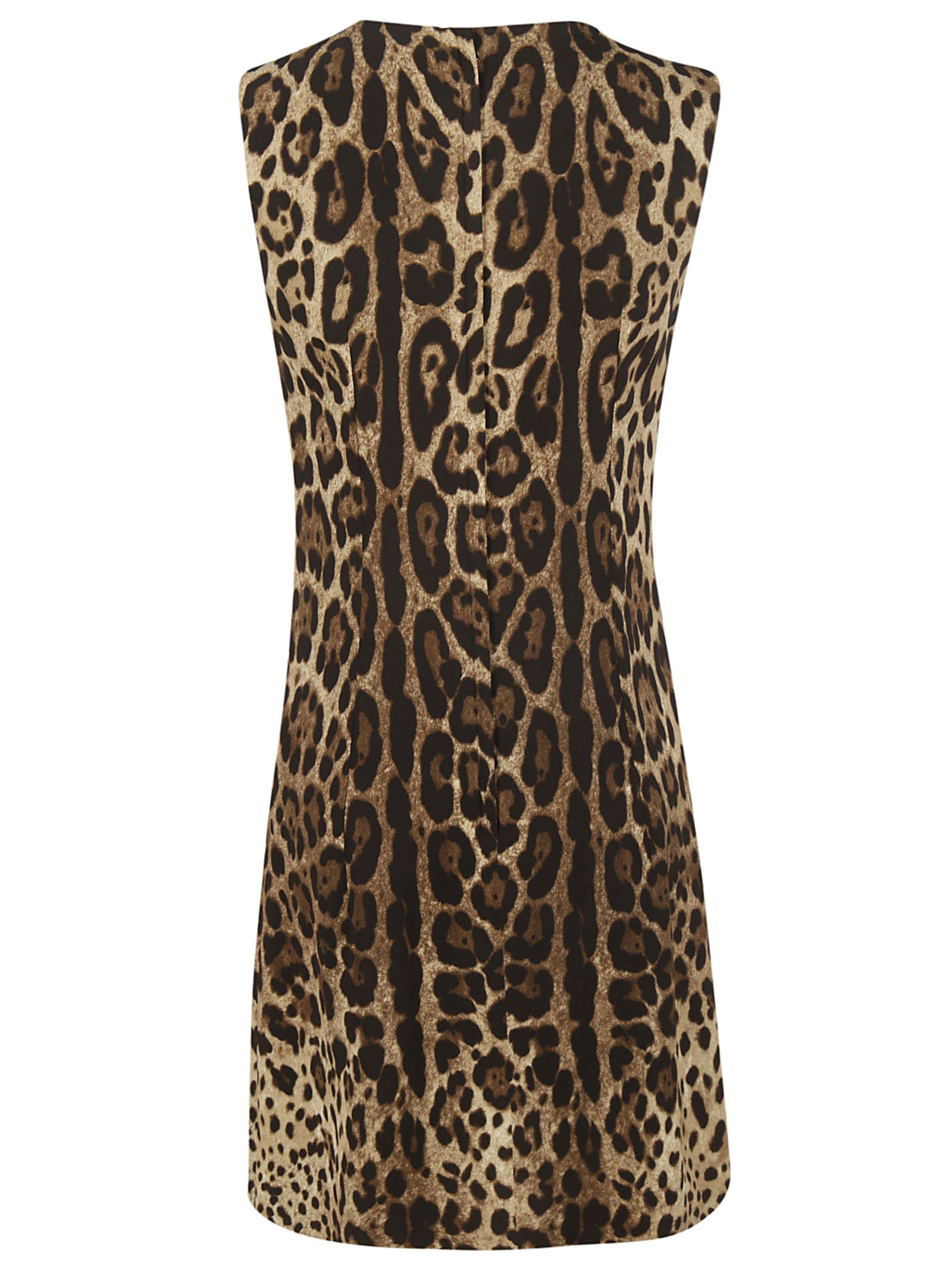 d69af33bd79b Dolce & Gabbana Dolce & Gabbana Leopard Print Dress - Basic ...