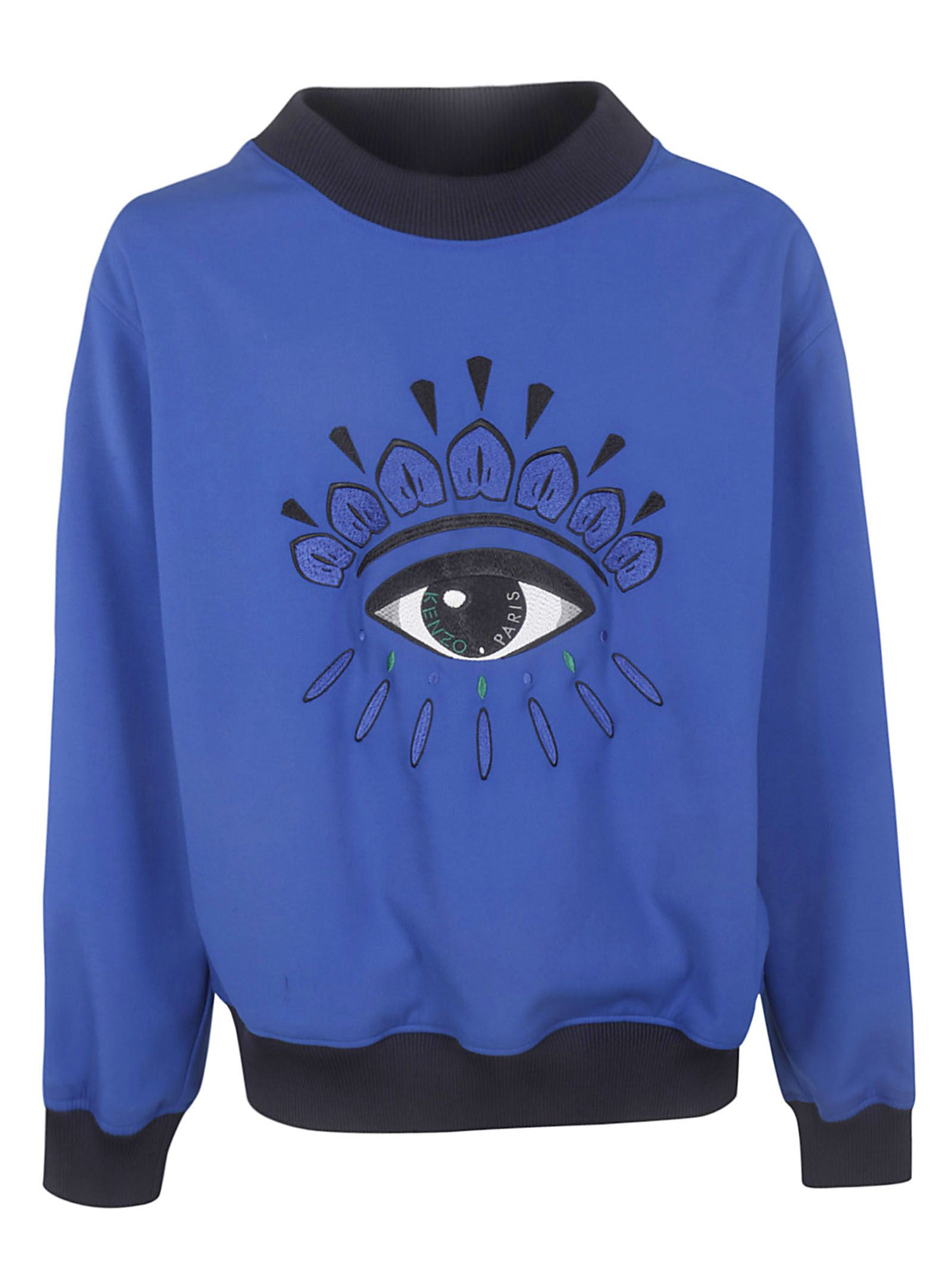 9d7c7e7d0 Kenzo Kenzo Embroidered Eye Sweatshirt - Blue france - 10823496 ...