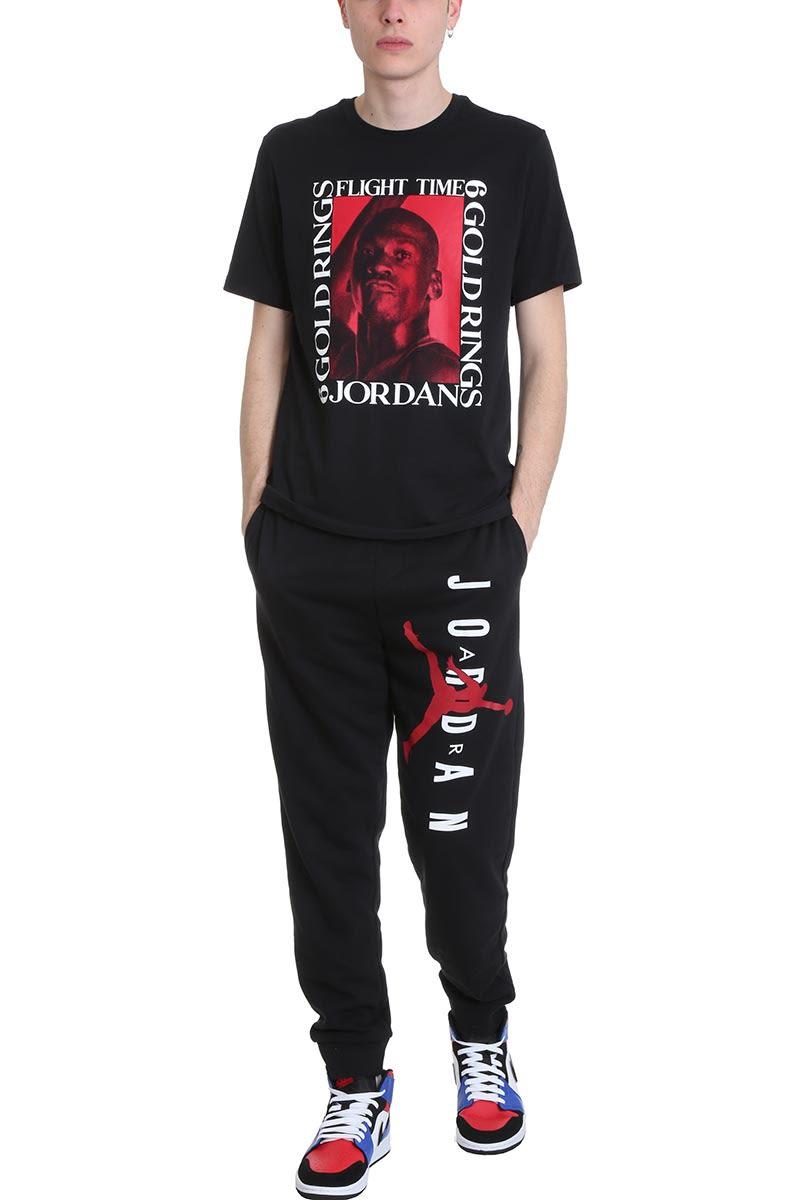 49e15b51ace8 Nike Nike Flight Black Cotton T-shirt - black - 10882938